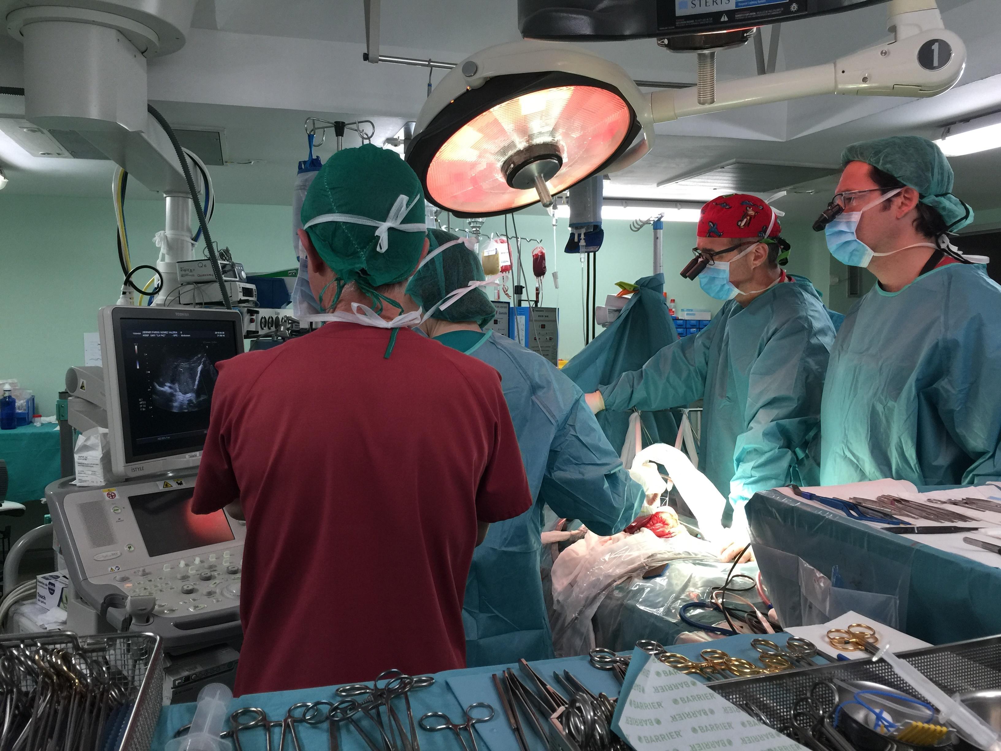 500 trasplantes pediátricos de riñón en La Paz