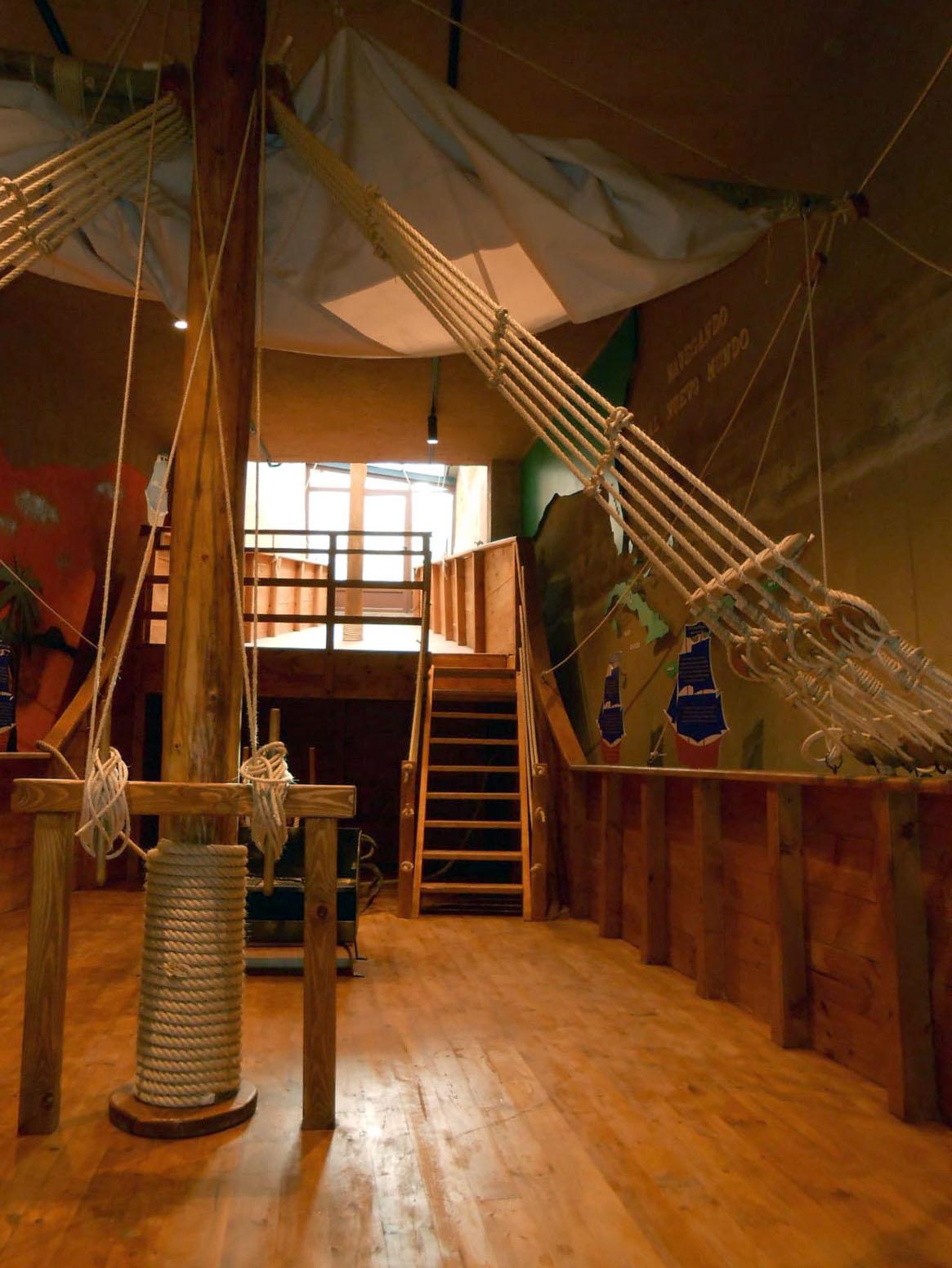 Imagen del interior del museo