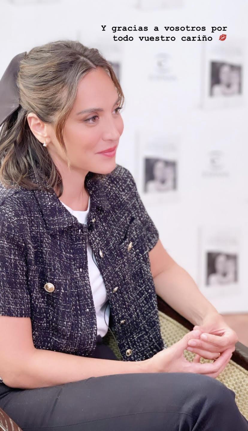 Tamara Falcó en sus Stories.