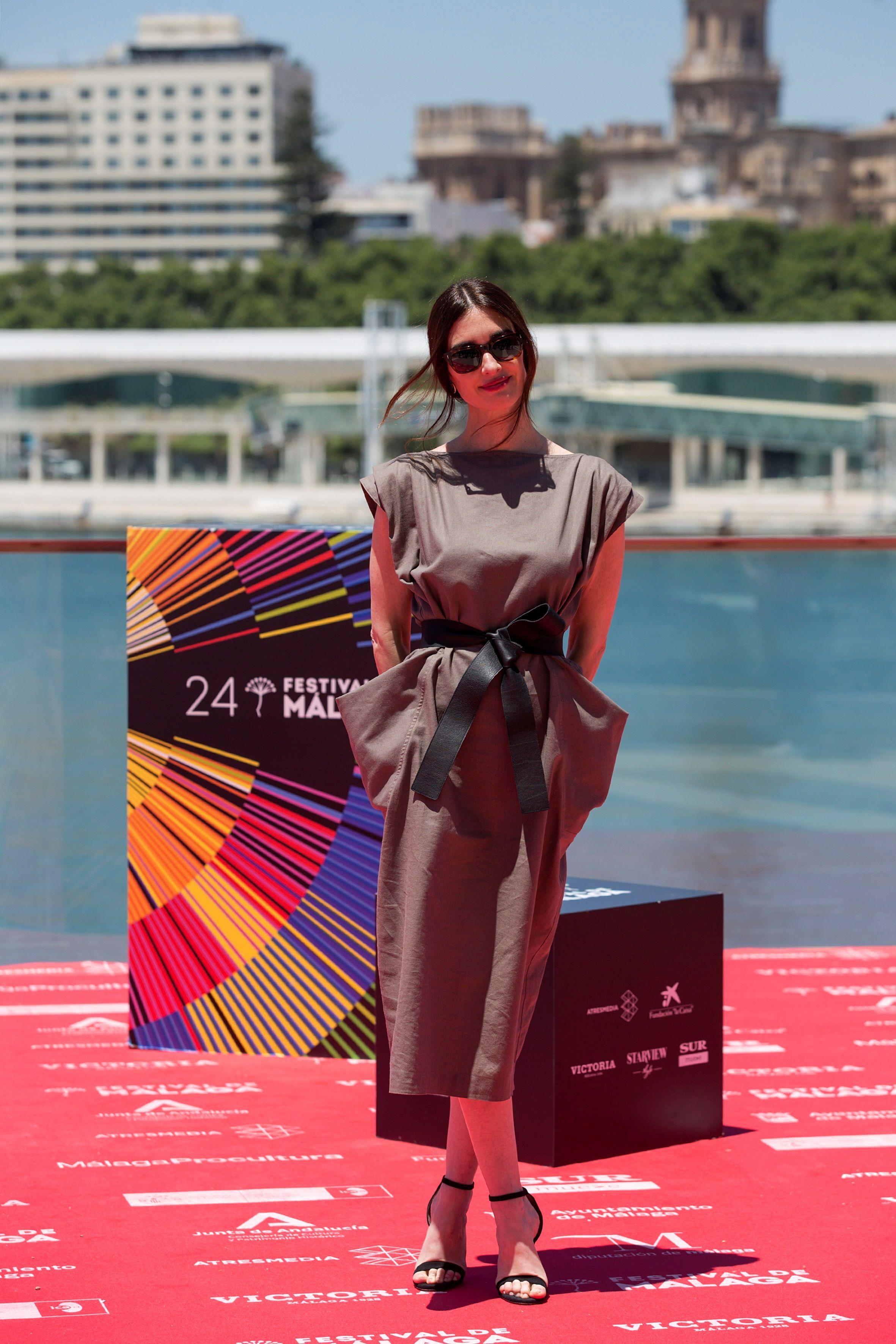 """La actriz Paz Vega posa durante la presentación de la película """"La casa del caracol""""."""