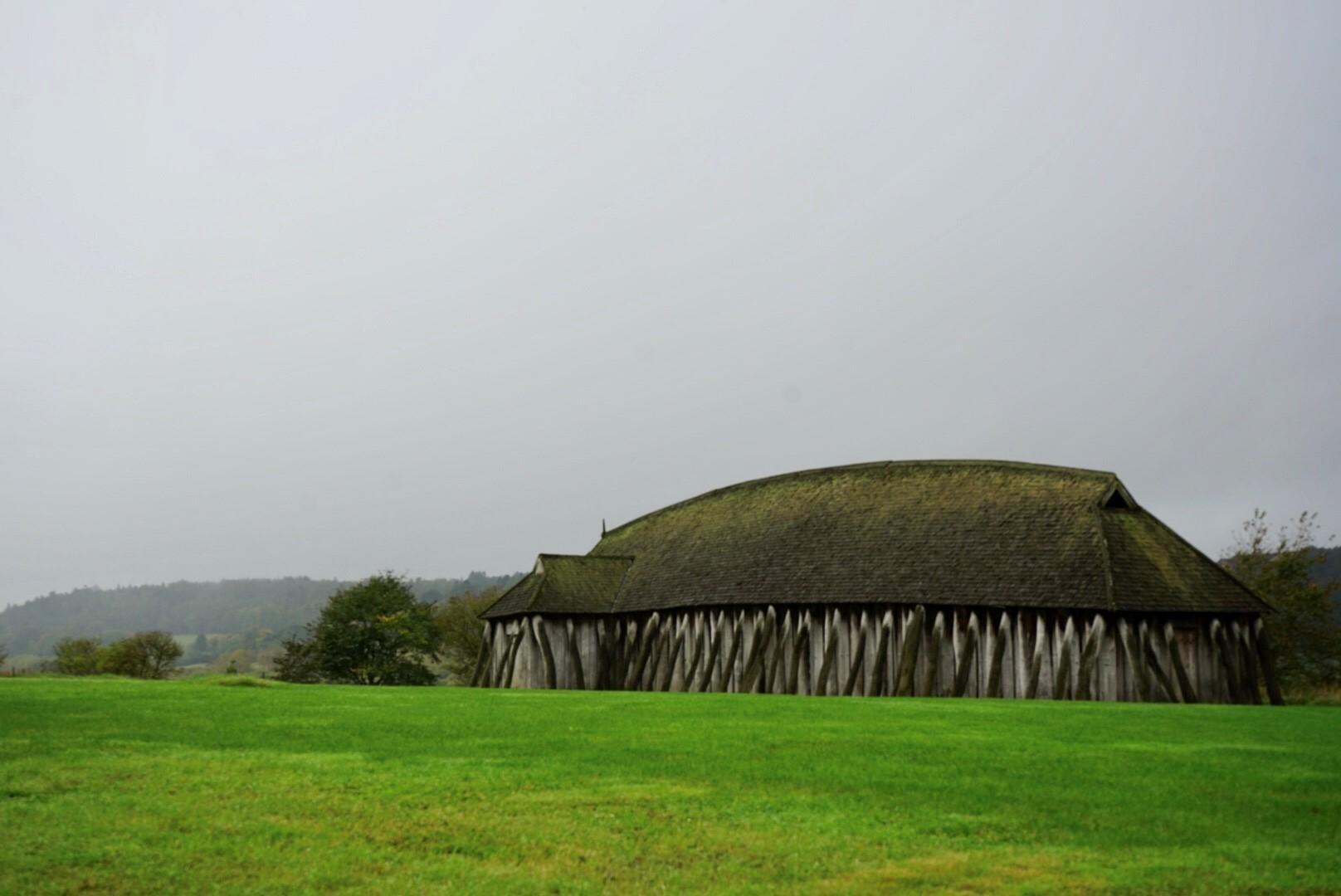 Castillo del rey Harald en Fyrkat.