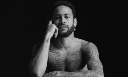 Neymar revoluciona Instagram con una foto en calzoncillos