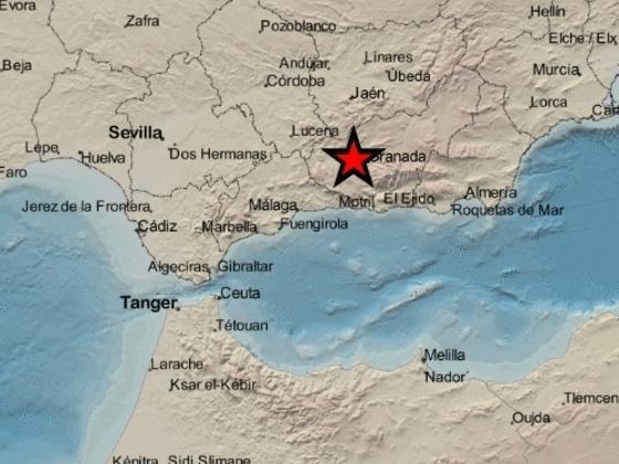 Un terremoto hace temblar la provincia de Granada