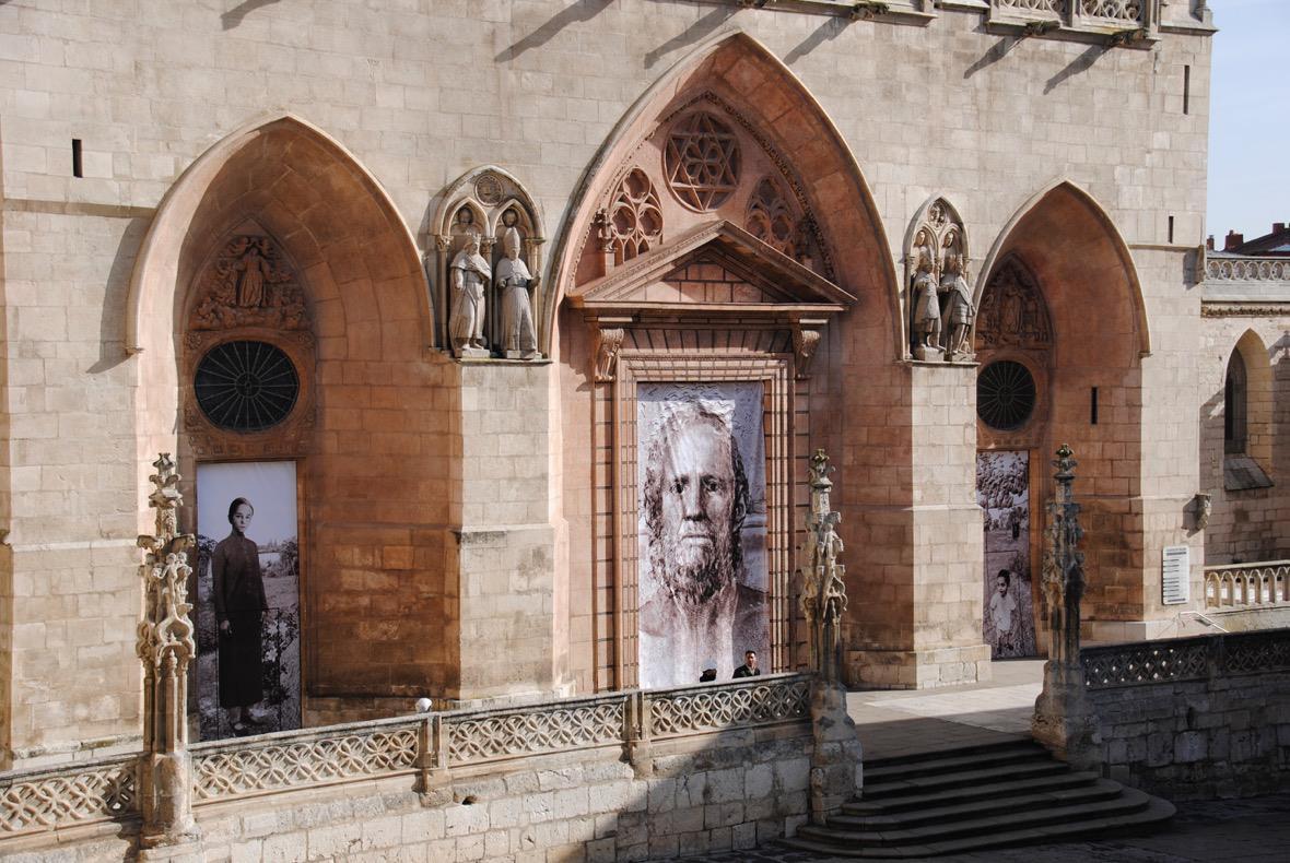 Portada de Santa María donde se ubicarán las nuevas puertas
