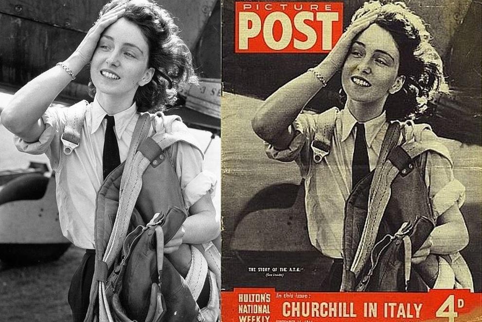 Maureen Dunlop, la última heroína de la RAF