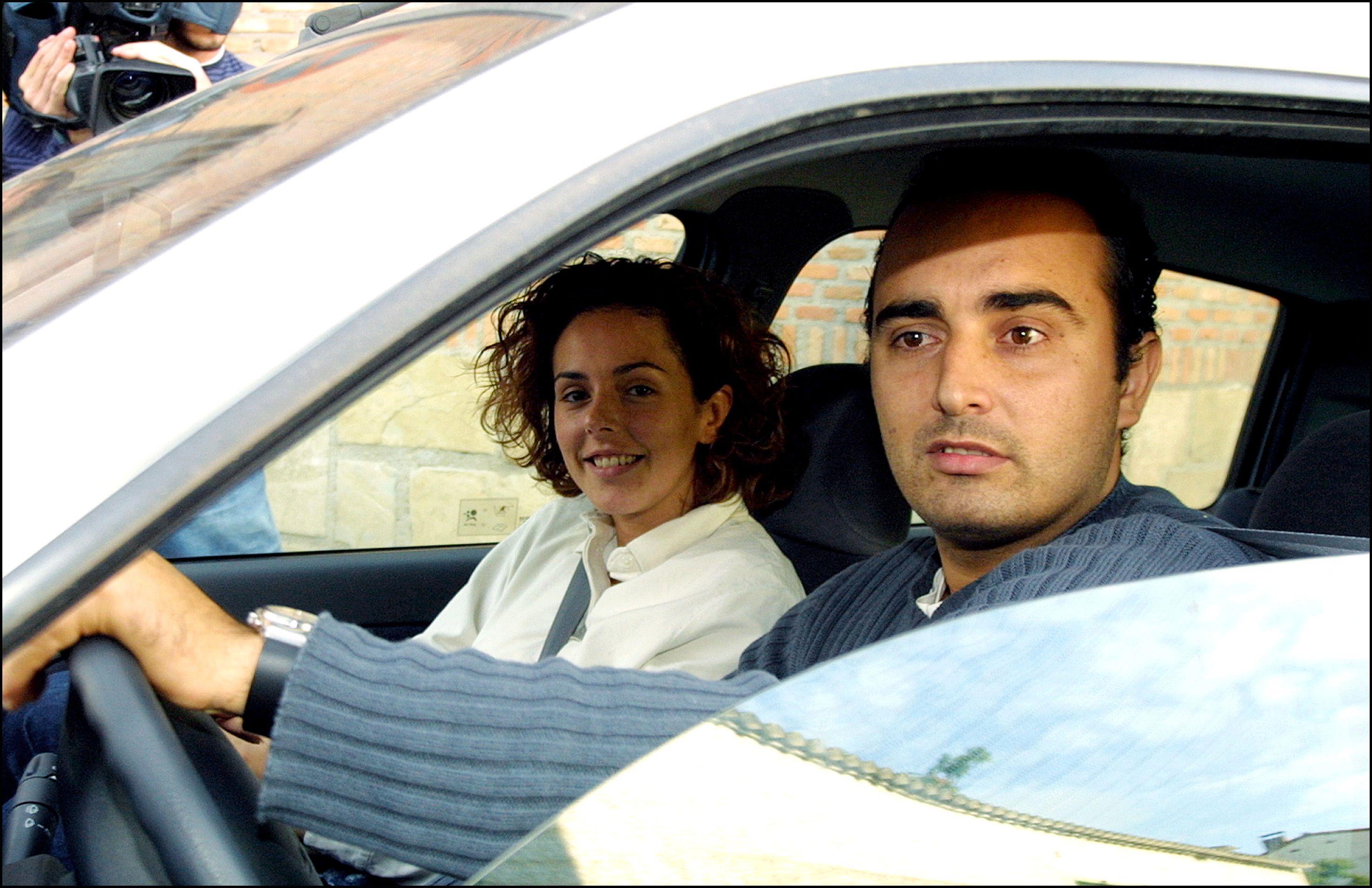 ROCIO CARRASCO Y SU NOVIO FIDEL ALBIAC A FINALES DE 2001