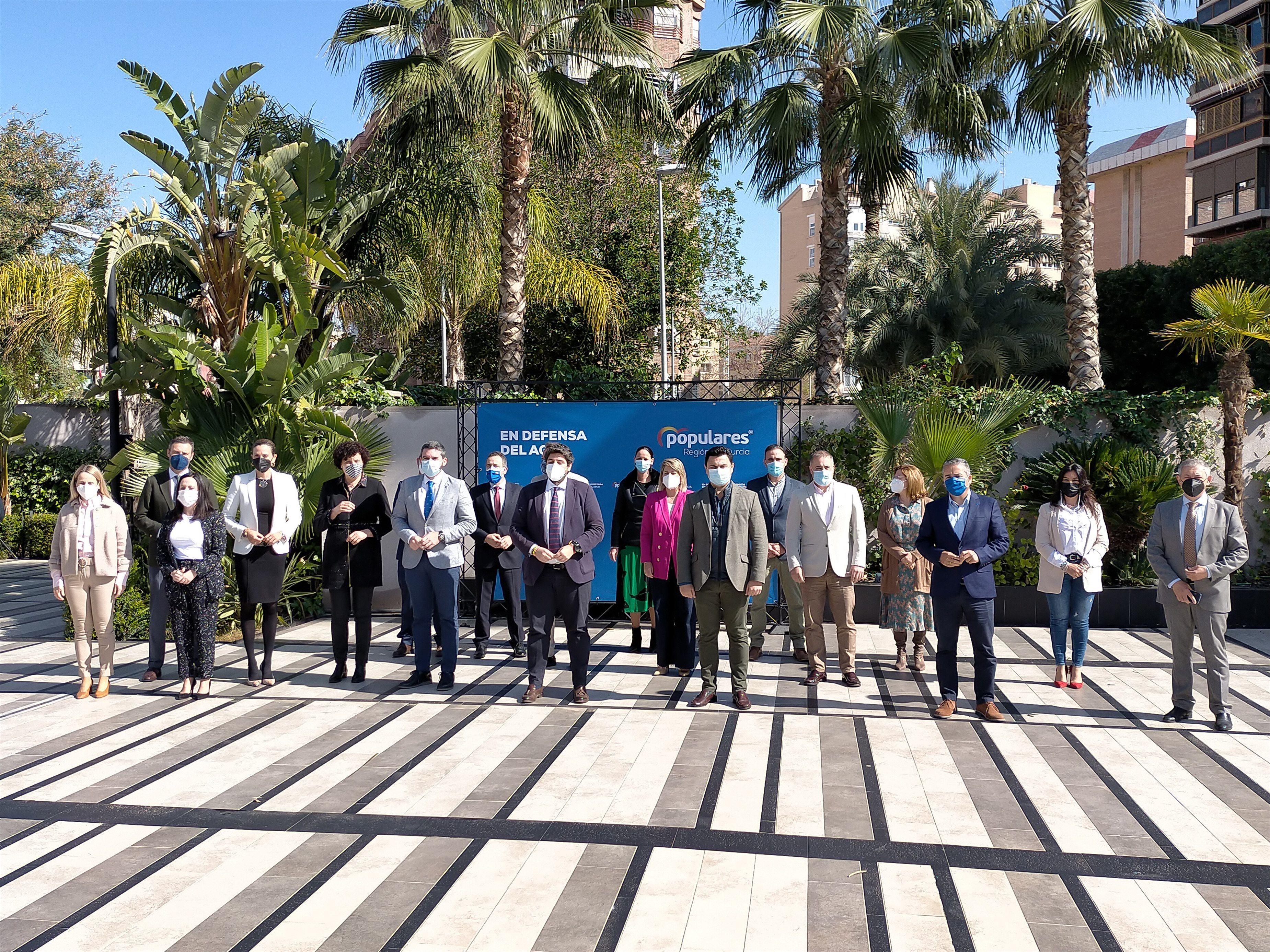 Cumbre autonómica en Almería por el trasvase Tajo-Segura