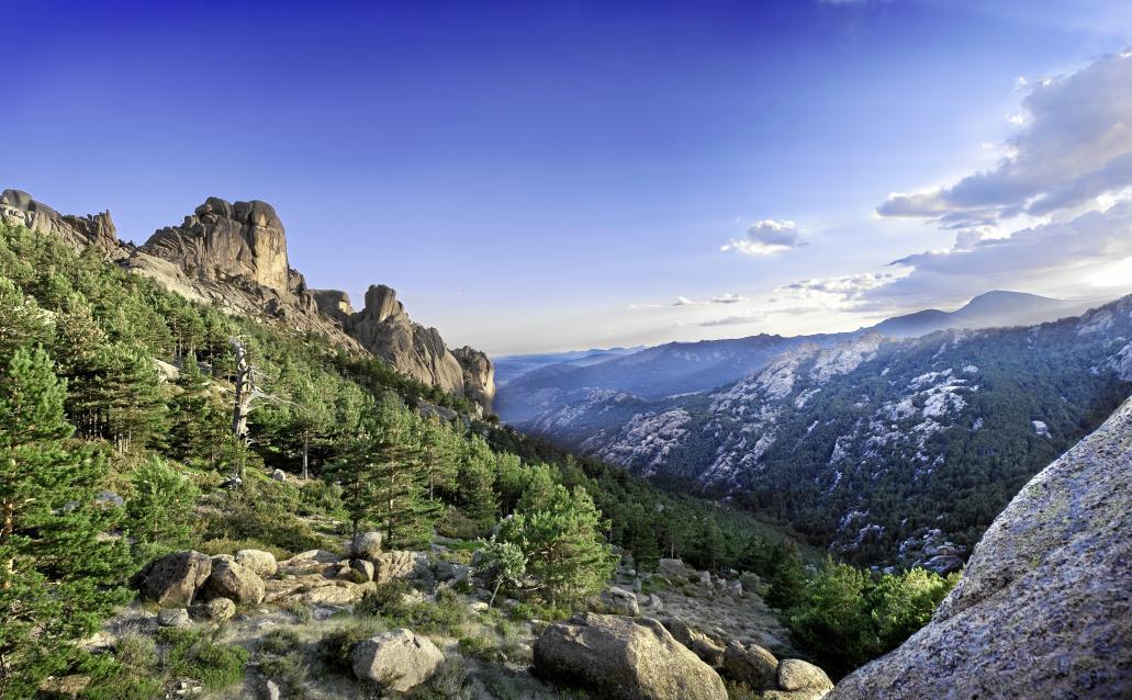 El Parque Nacional de la Sierra de Guadarrama