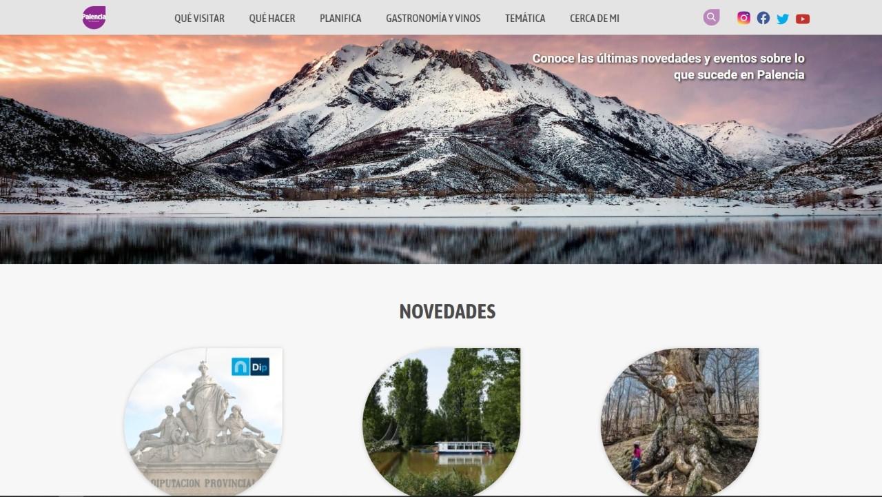 Nueva web de la Diputación de Palencia