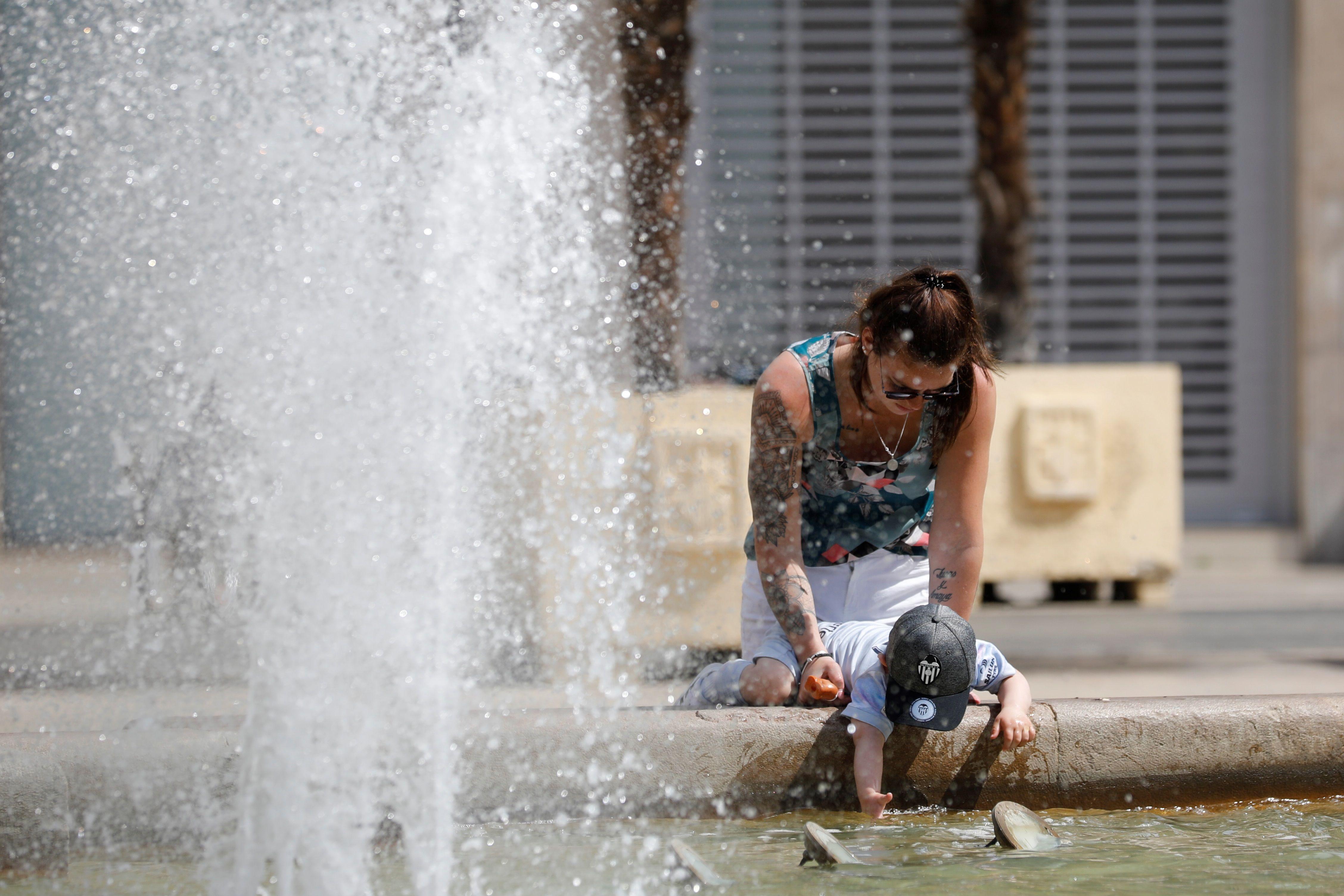 Sábado caluroso: las temperaturas llegan hasta los 34′6 grados en puntos de la Comunitat Valenciana