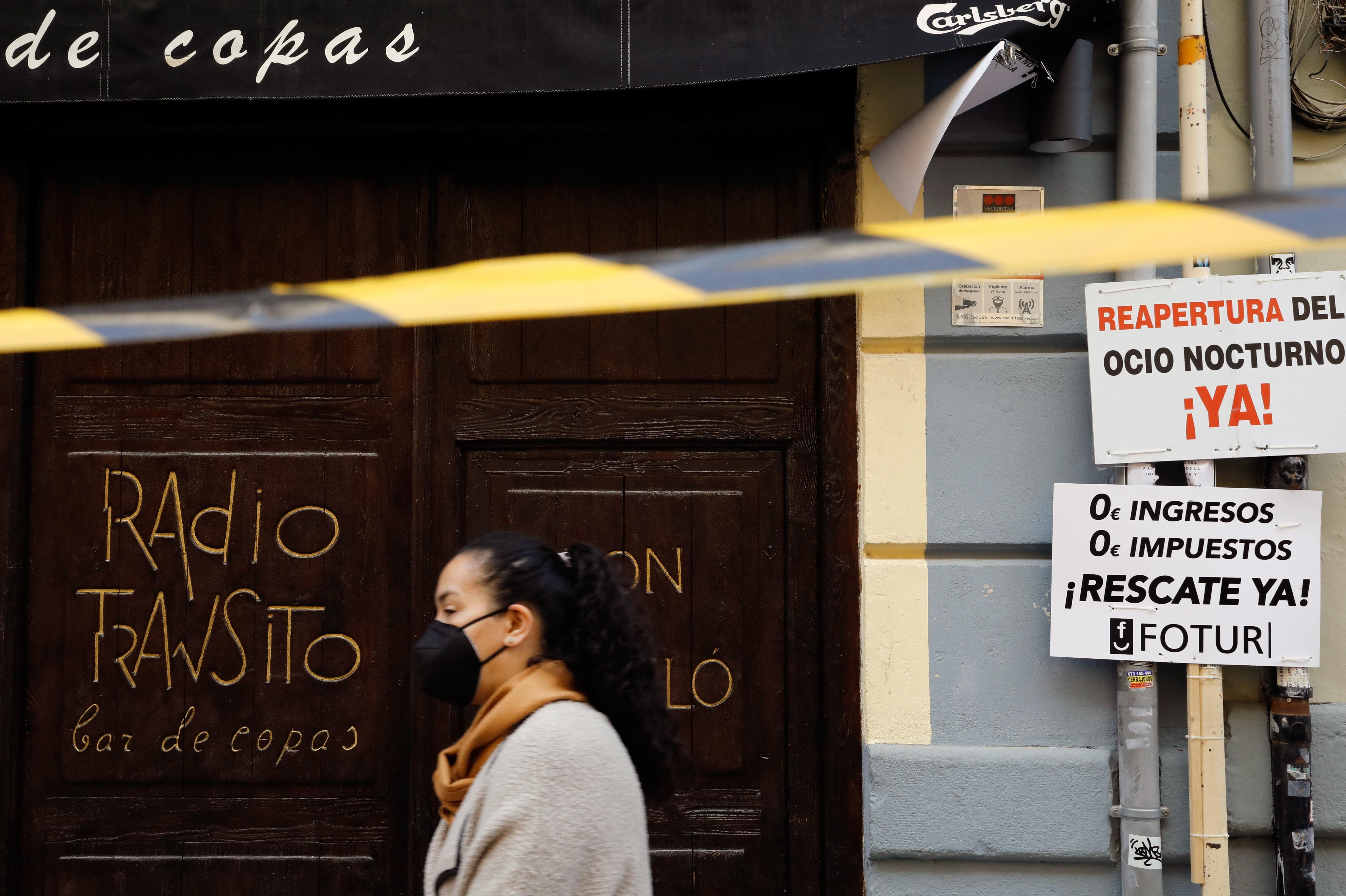 El ocio nocturno valenciano exige la flexibilización de las medidas sanitarias