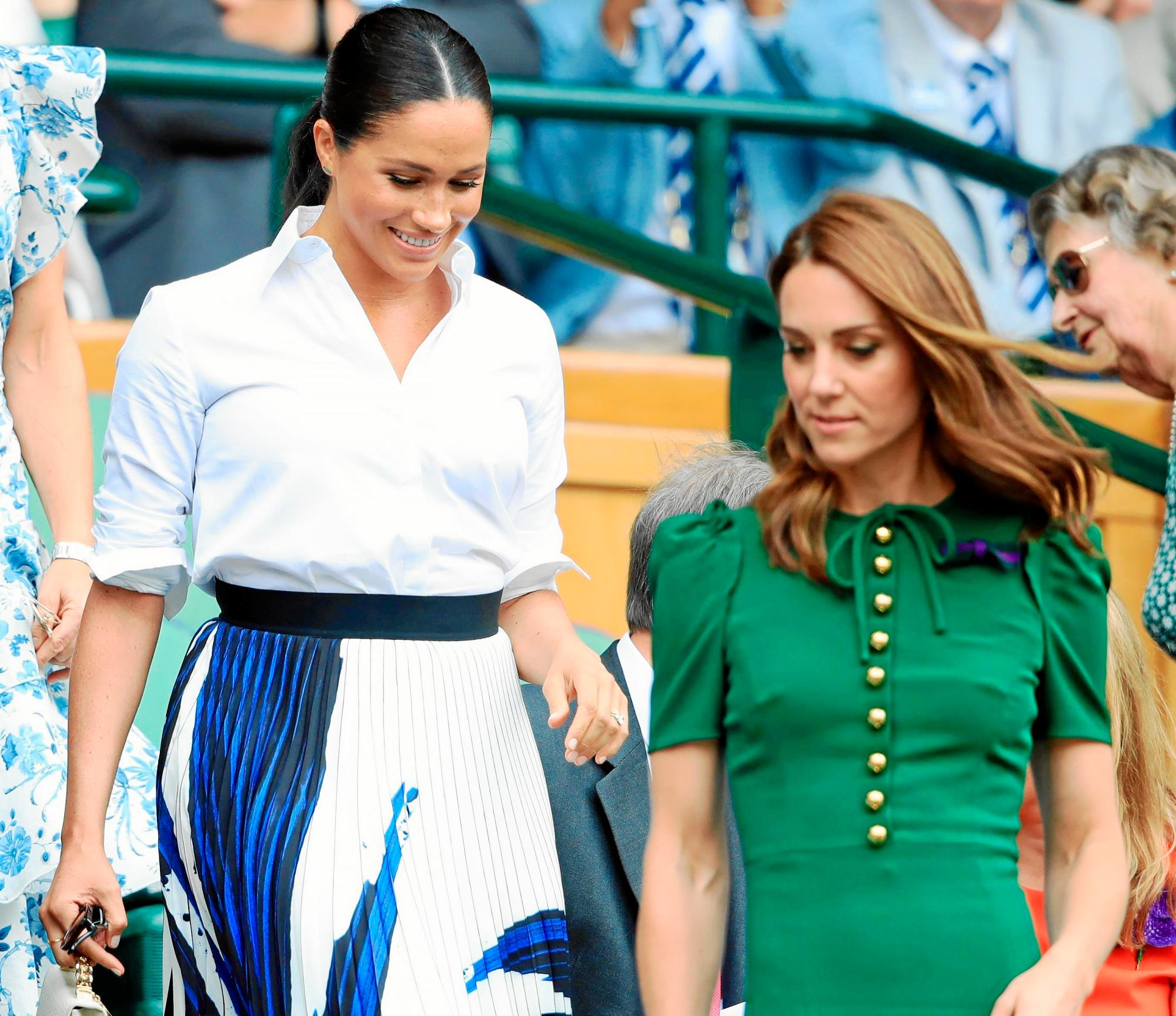 Kate Middleton y Meghan Markle / Gtres