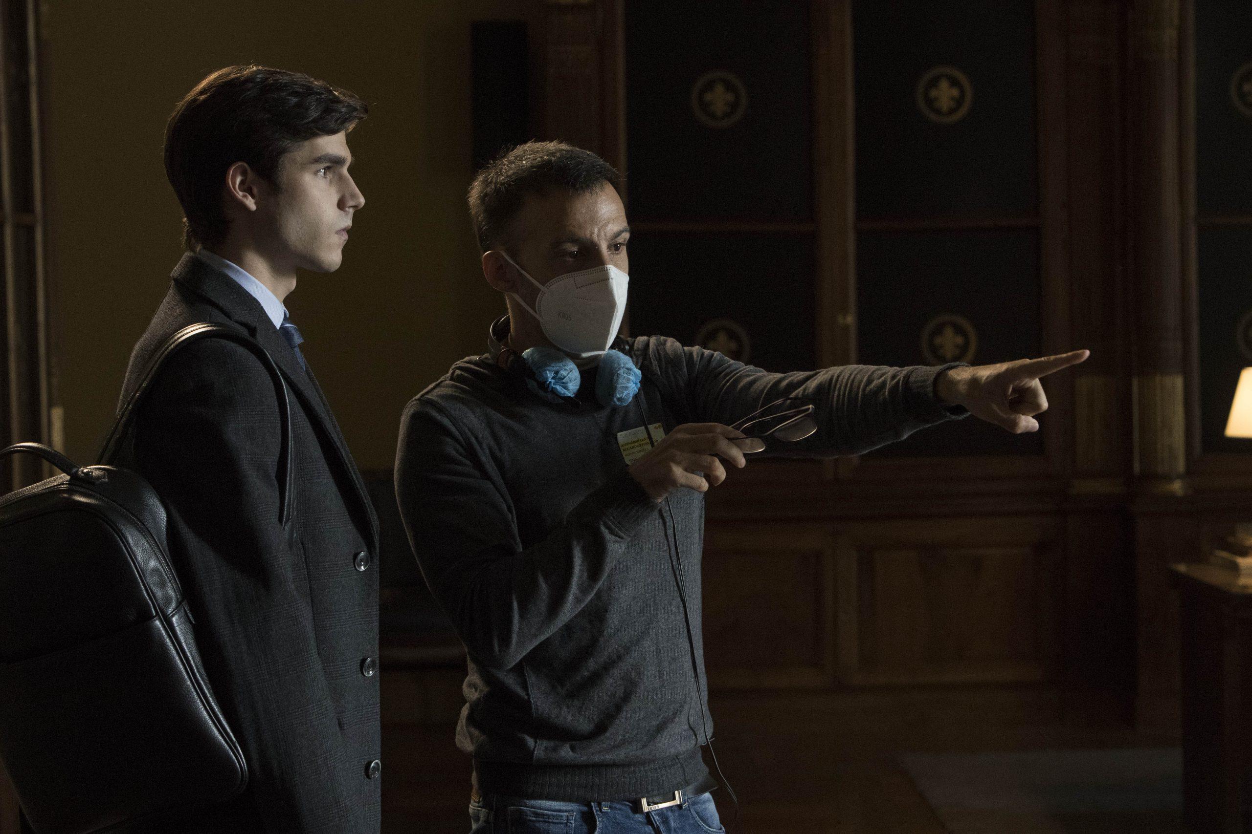 """Amenábar dirige, en """"La Fortuna"""", al actor e """"influencer"""" Álvaro Mel"""