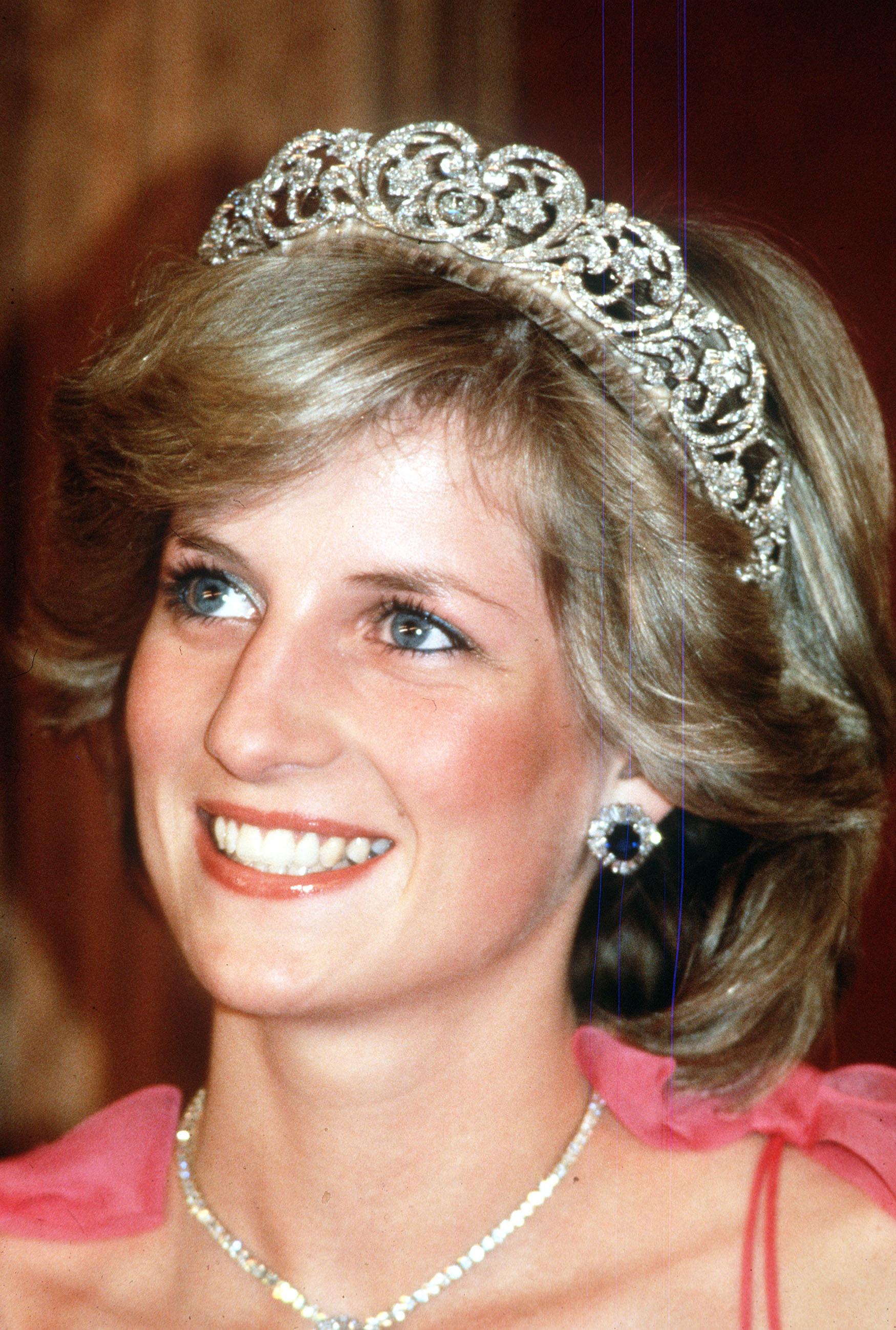 En la imagen, la princesa de Gales.