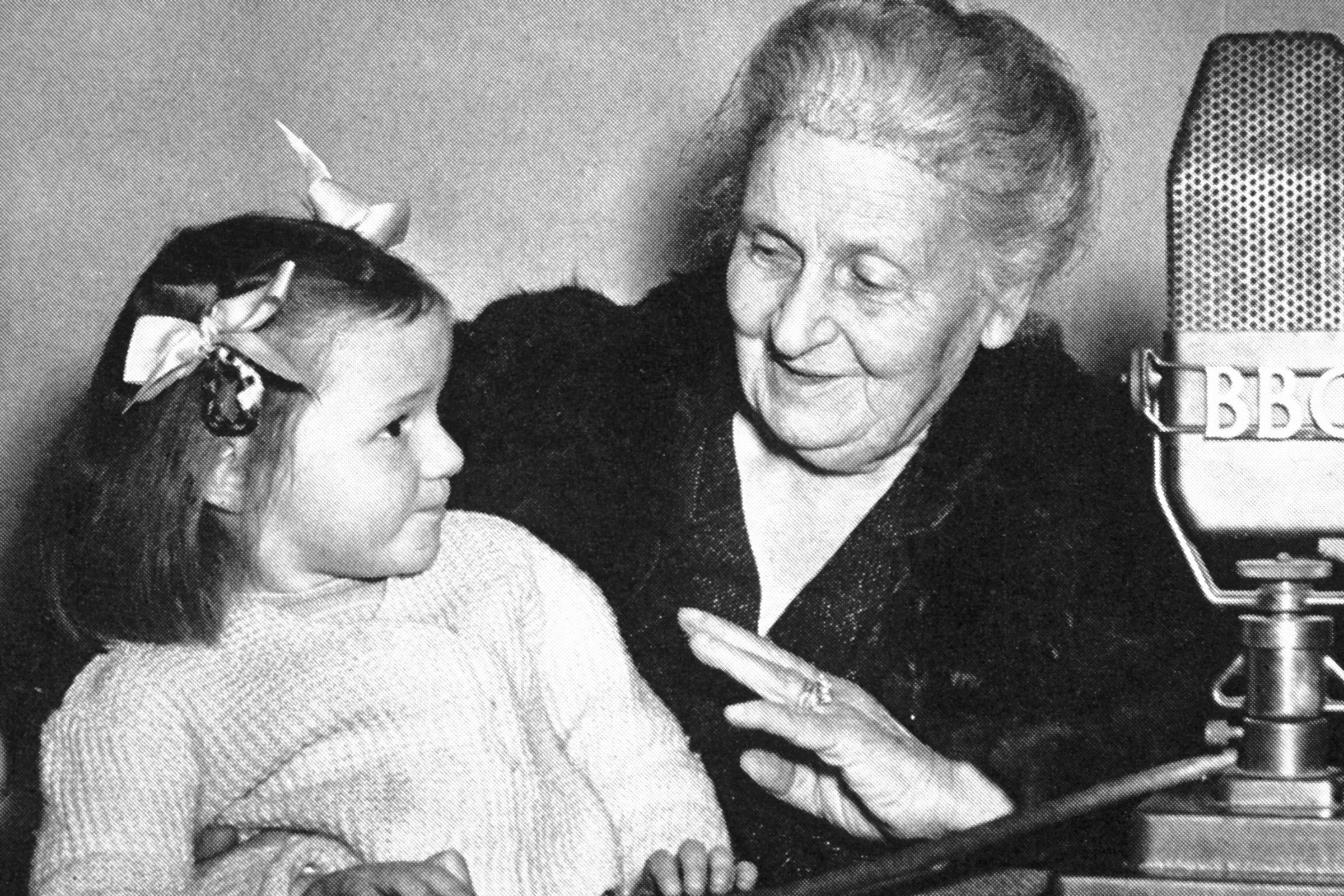 Aniversario de la muerte de María Montessori