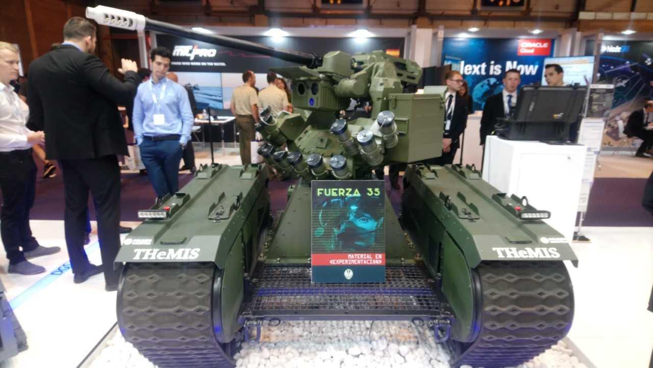 """Programa """"Escorpión"""": en busca de un vehículo no tripulado para el Ejército"""