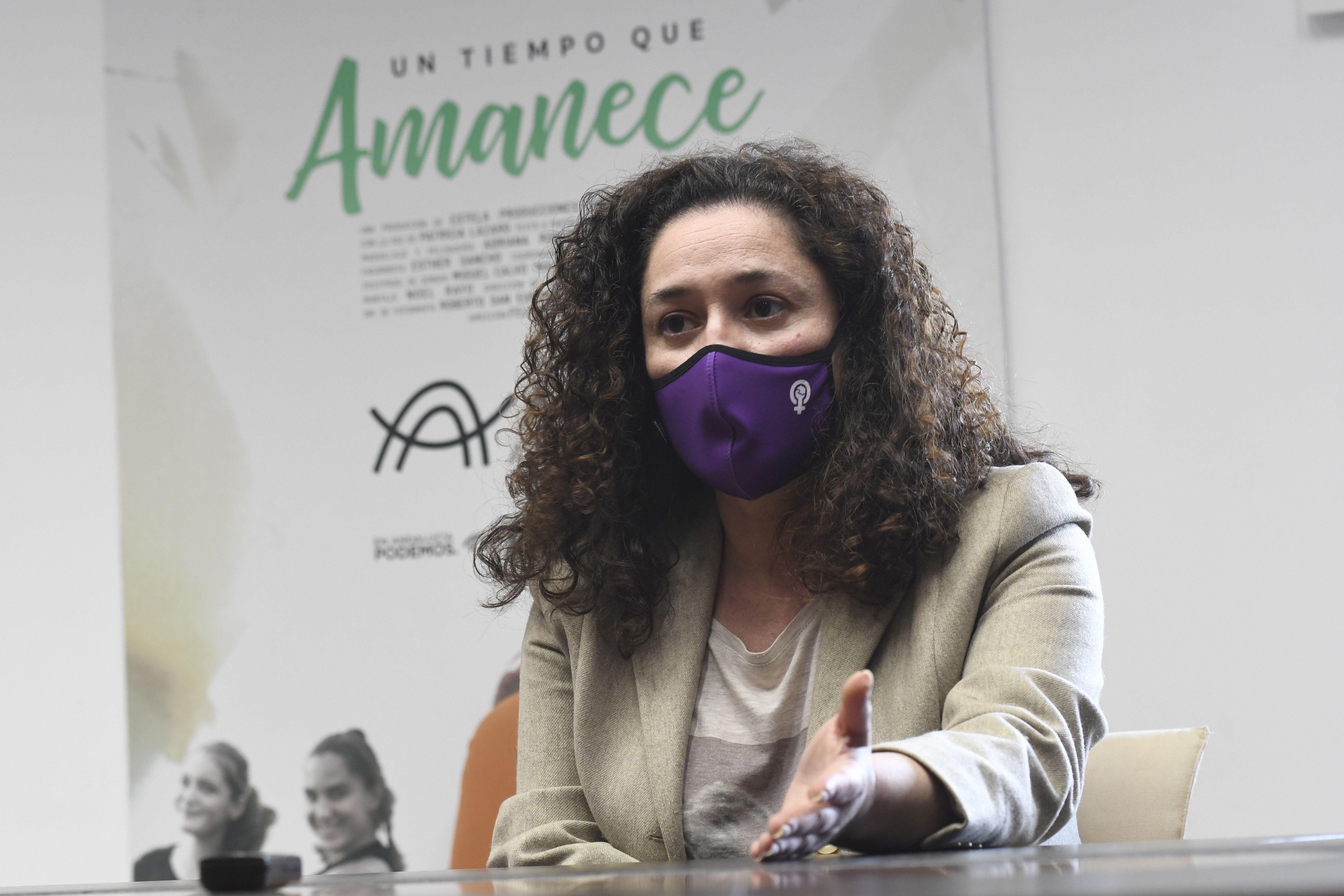 La parlamentaria andaluza Inmaculada Nieto