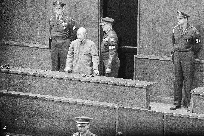 Hideki Tojo durante el juicio en su contra que le declaró criminal de guerra