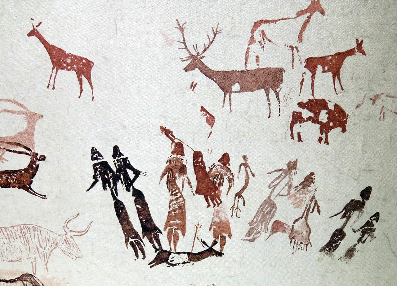Pinturas de la Roca de los Moros, exposición del Museu de Gavà.