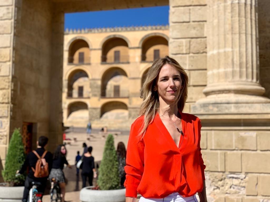 La diputada del PP Cayetana Álvarez de Toledo, en Córdoba PP 12/10/2020