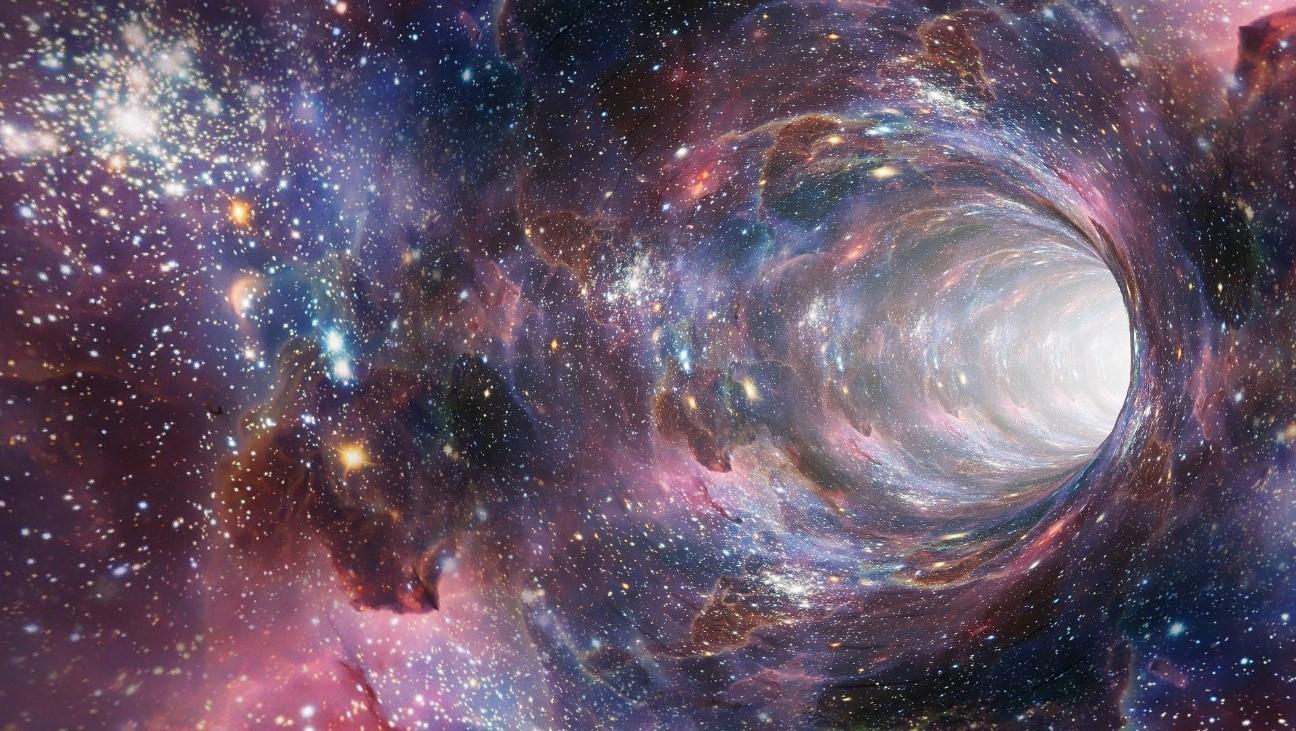 Teletransportarse y viajar en el tiempo a través de agujeros de gusano, una esperanza matemática