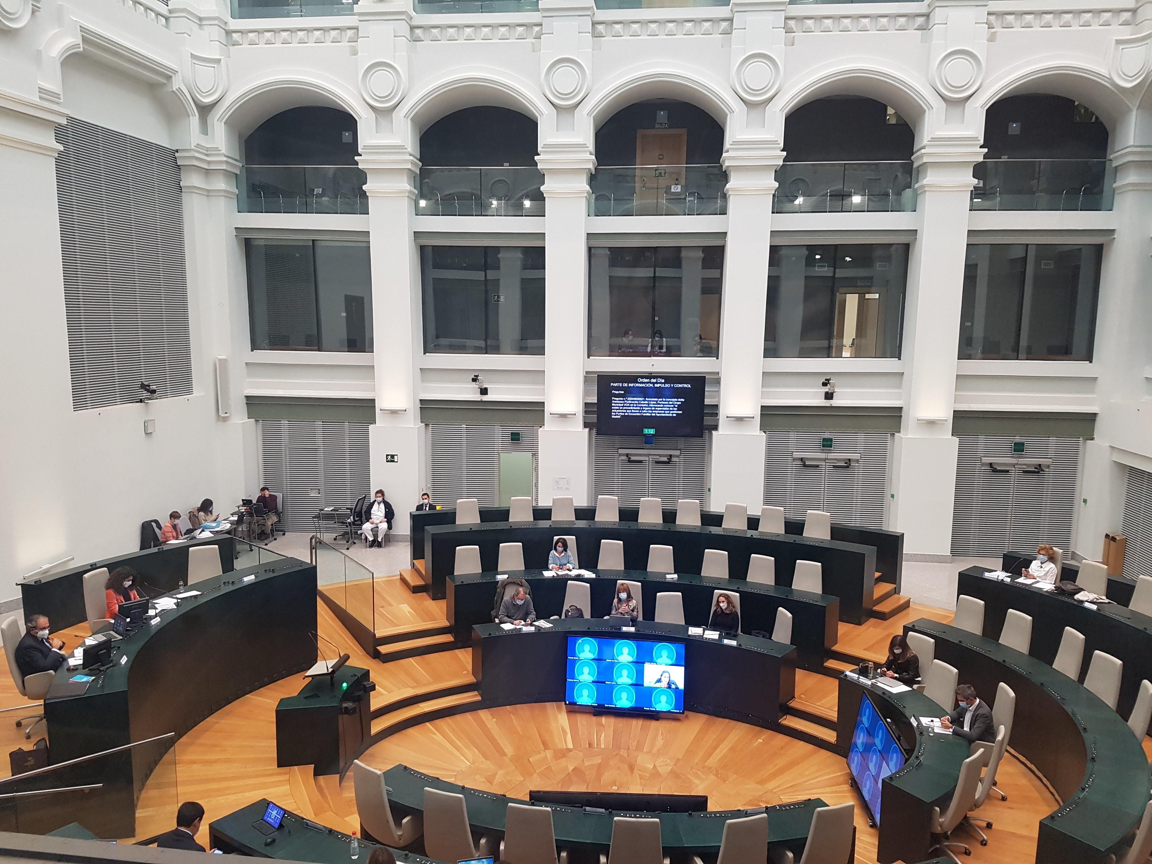 Comisión de Familias, Igualdad y Biebestar Social del Ayuntamiento de Madrid