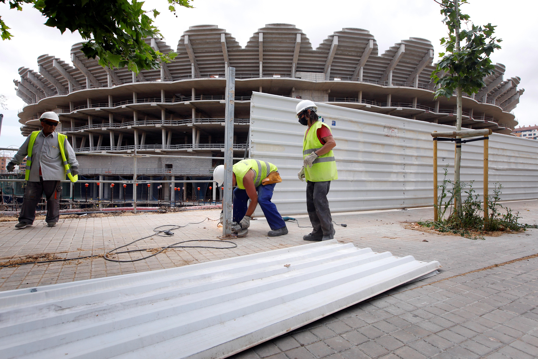 El Ayuntamiento pide no prorrogar la ATE de Mestalla o exigir un aval del cien por ciento