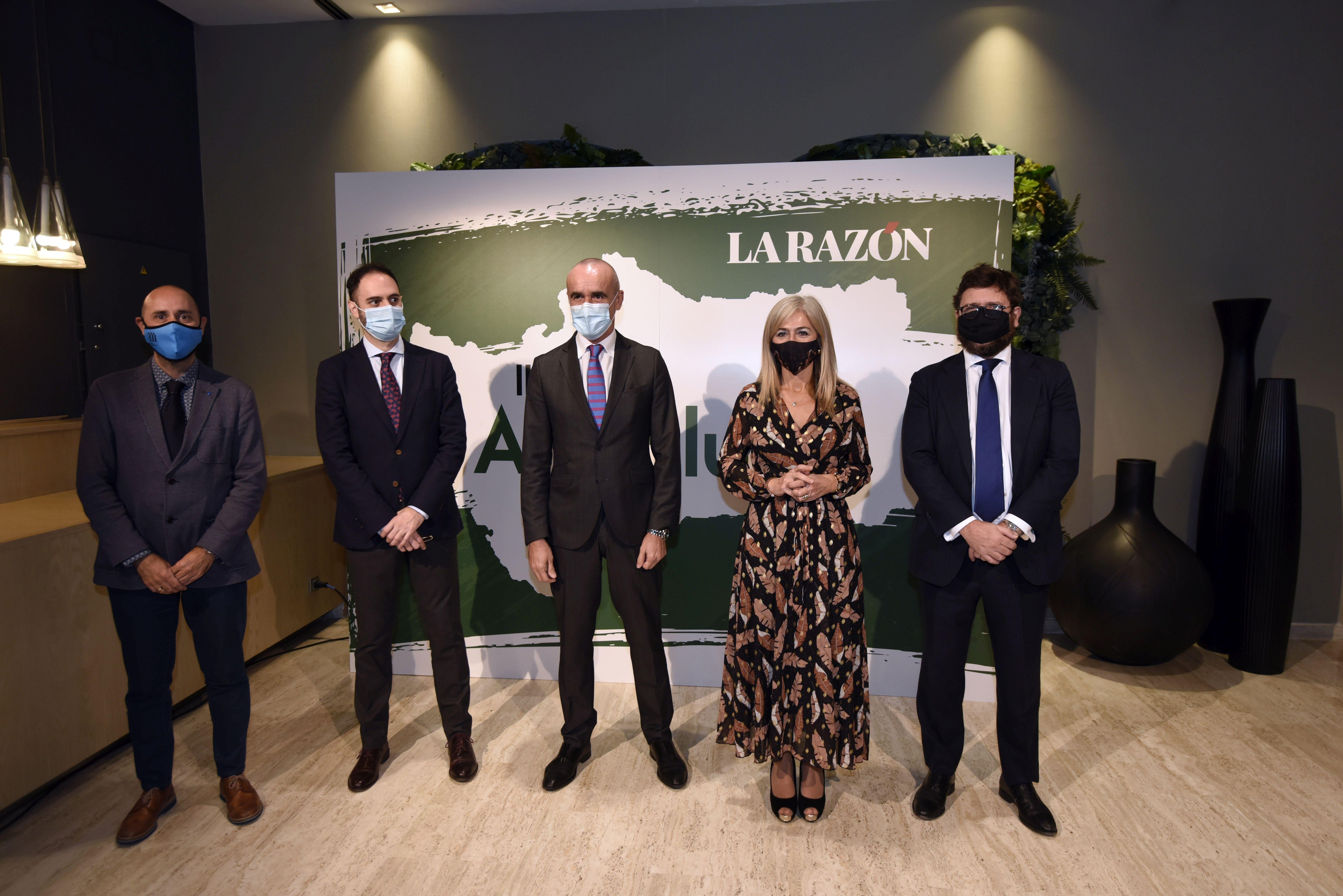 Éxito y esfuerzo, claves en los II Premios Andalucía de LA RAZÓN