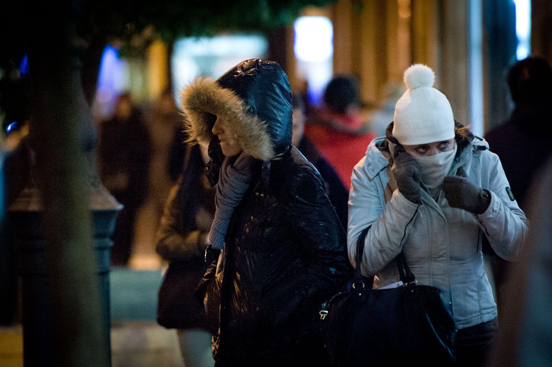 El frío y las heladas continuarán mañana en la Comunitat