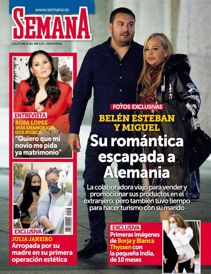 Julia Janeiro y la madre de su hermana Andrea comparten protagonismo en SEMANA