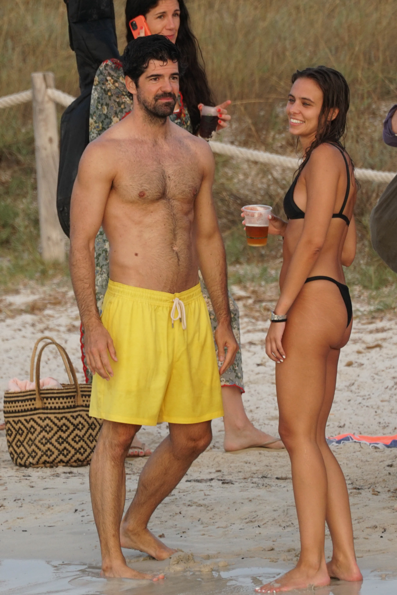 Miguel Ángel Muñoz and y Mimi Monzón juntos en Ibiza