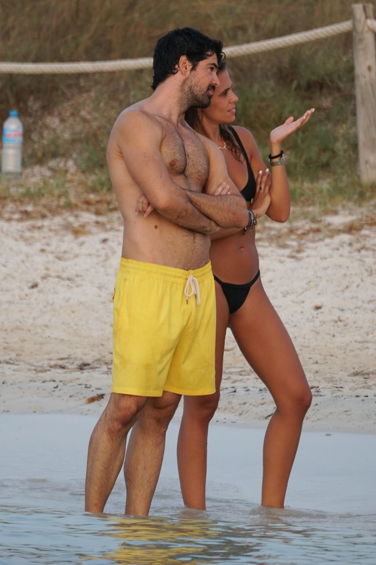 Miguel Ángel Muñoz y Mimi Monzón en Ibiza