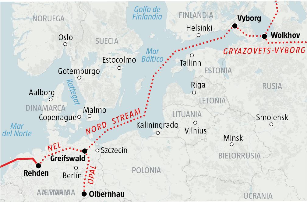 Gasoducto Nord Stream