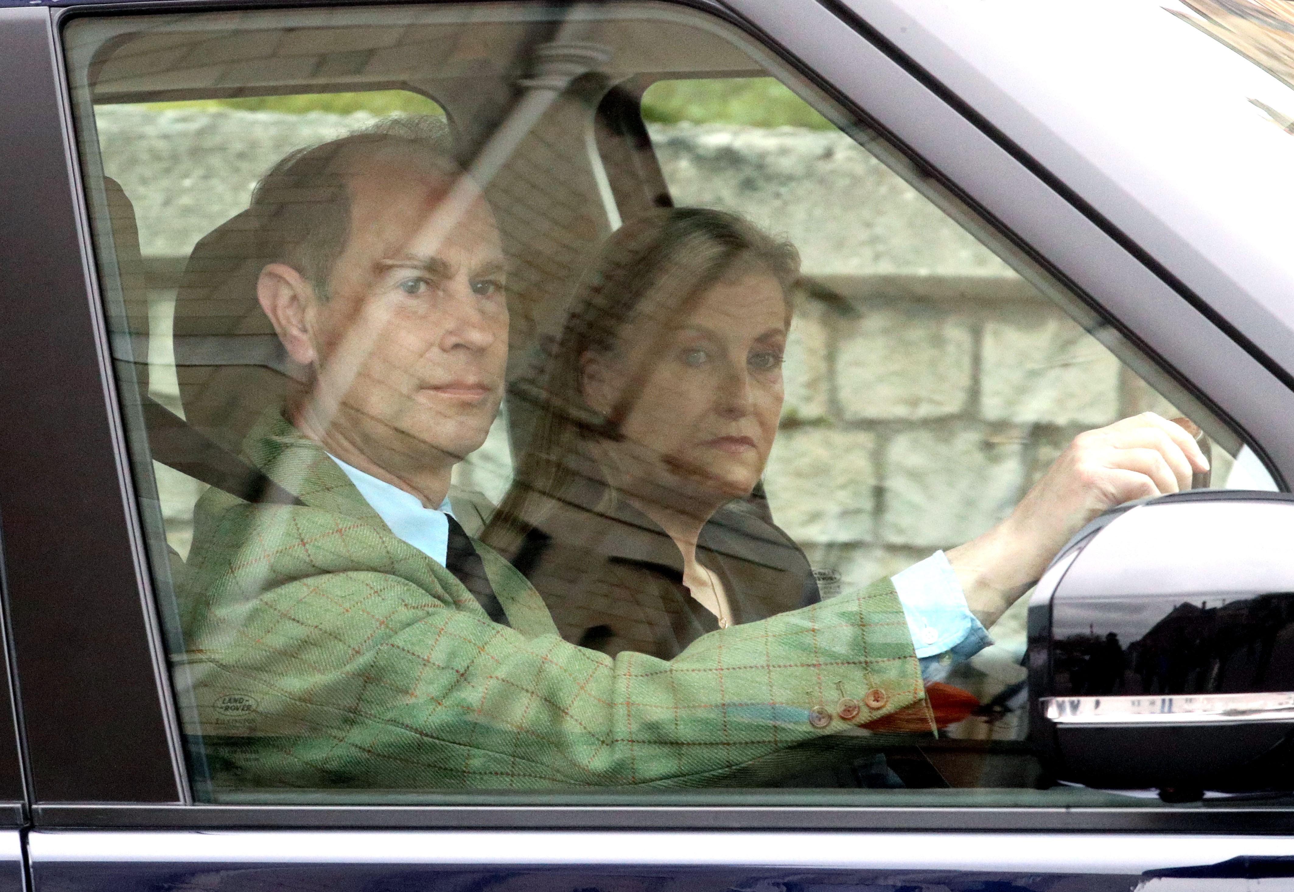El príncipe Eduardo, el nuevo duque de Edimburgo