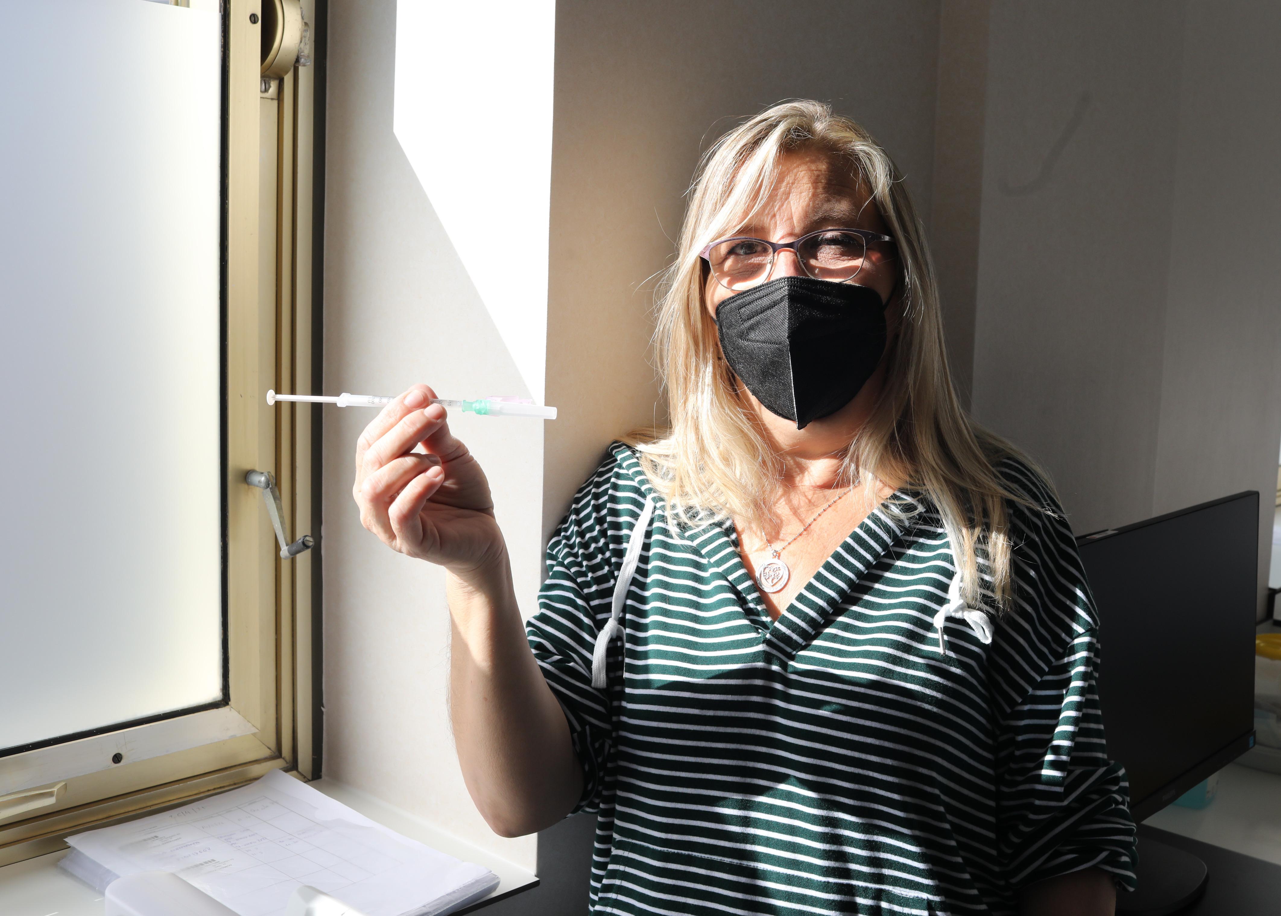 Montserrat Romera, 52 años, ha sido sometida a dos trasplantes de riñón