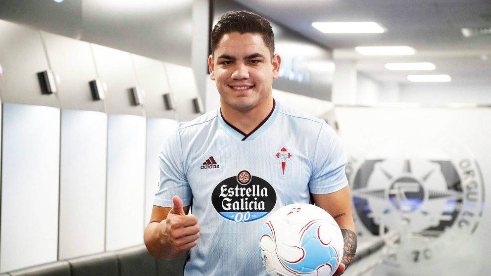 Gabriel Fernández confirma su intención de abandonar el Celta para regresar  a Peñarol