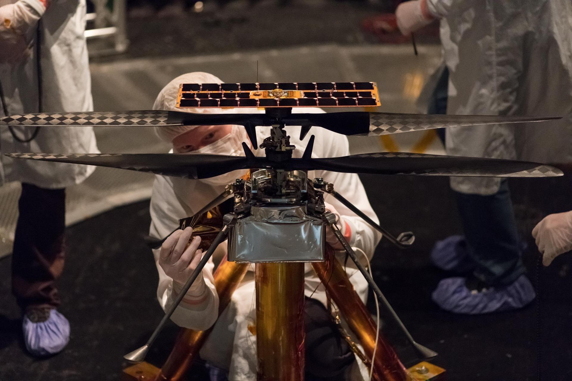 La NASA retrasa el despegue de la primera aeronave que volará en otro planeta