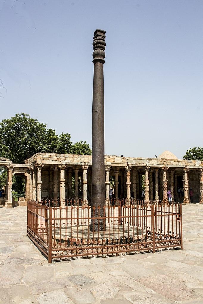 El «misterio» del pilar de hierro de 1 600 años que «no se oxida»