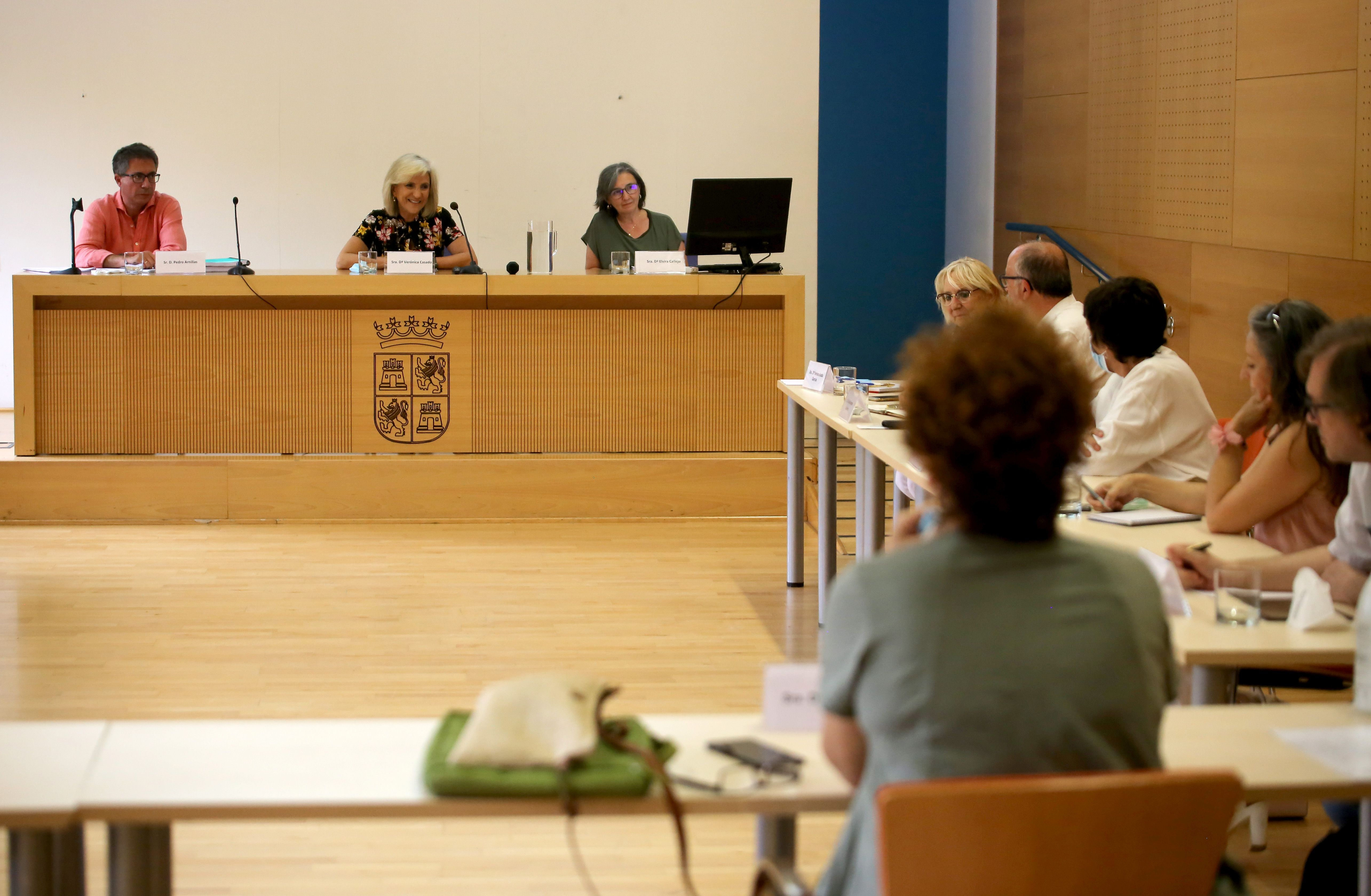 La consejera Verónica Casado preside la reunión del grupo de trabajo para la reforma sanitaria