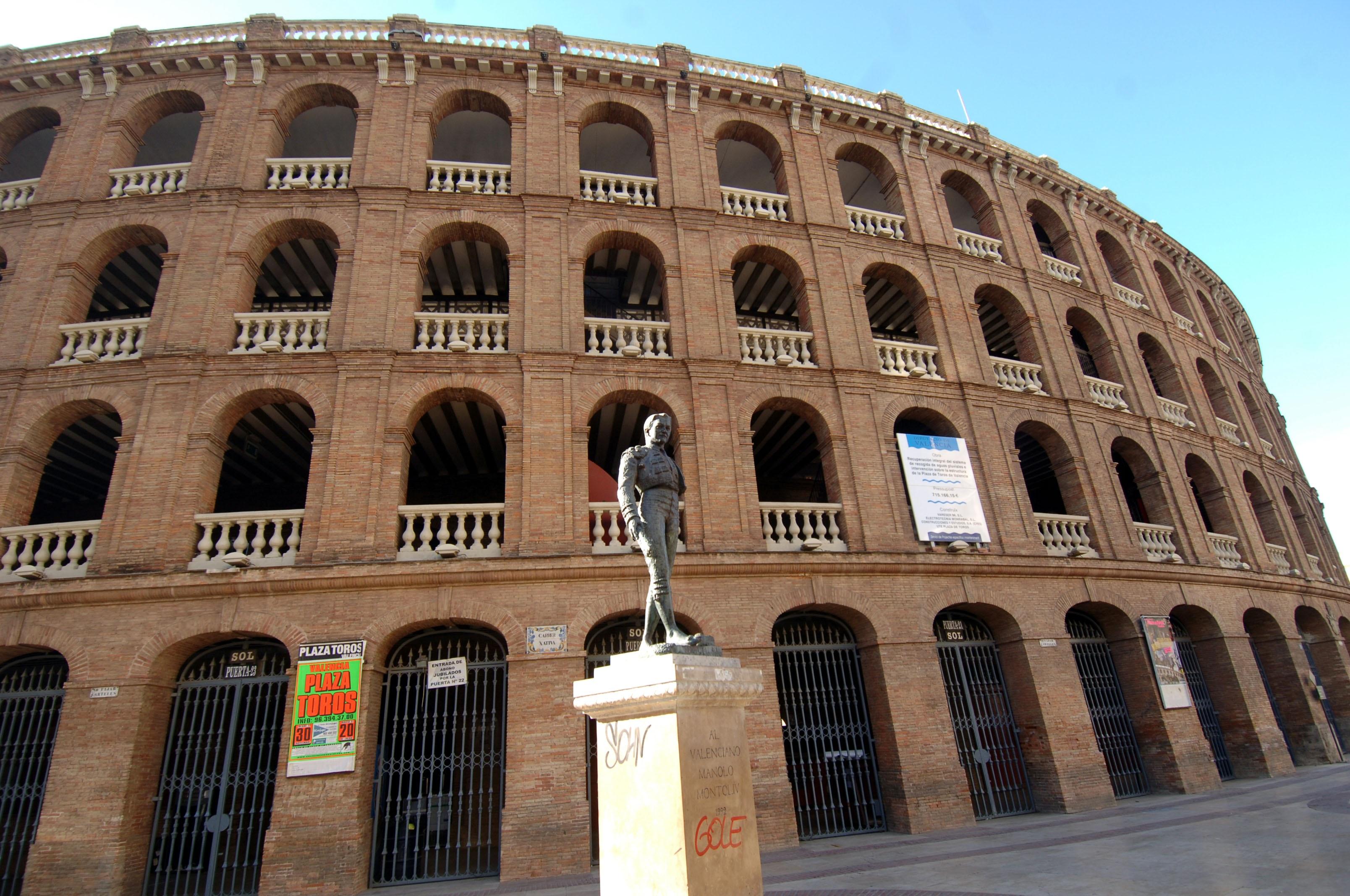 Valencia abrirá su plaza en fallas… para acoger exposiciones