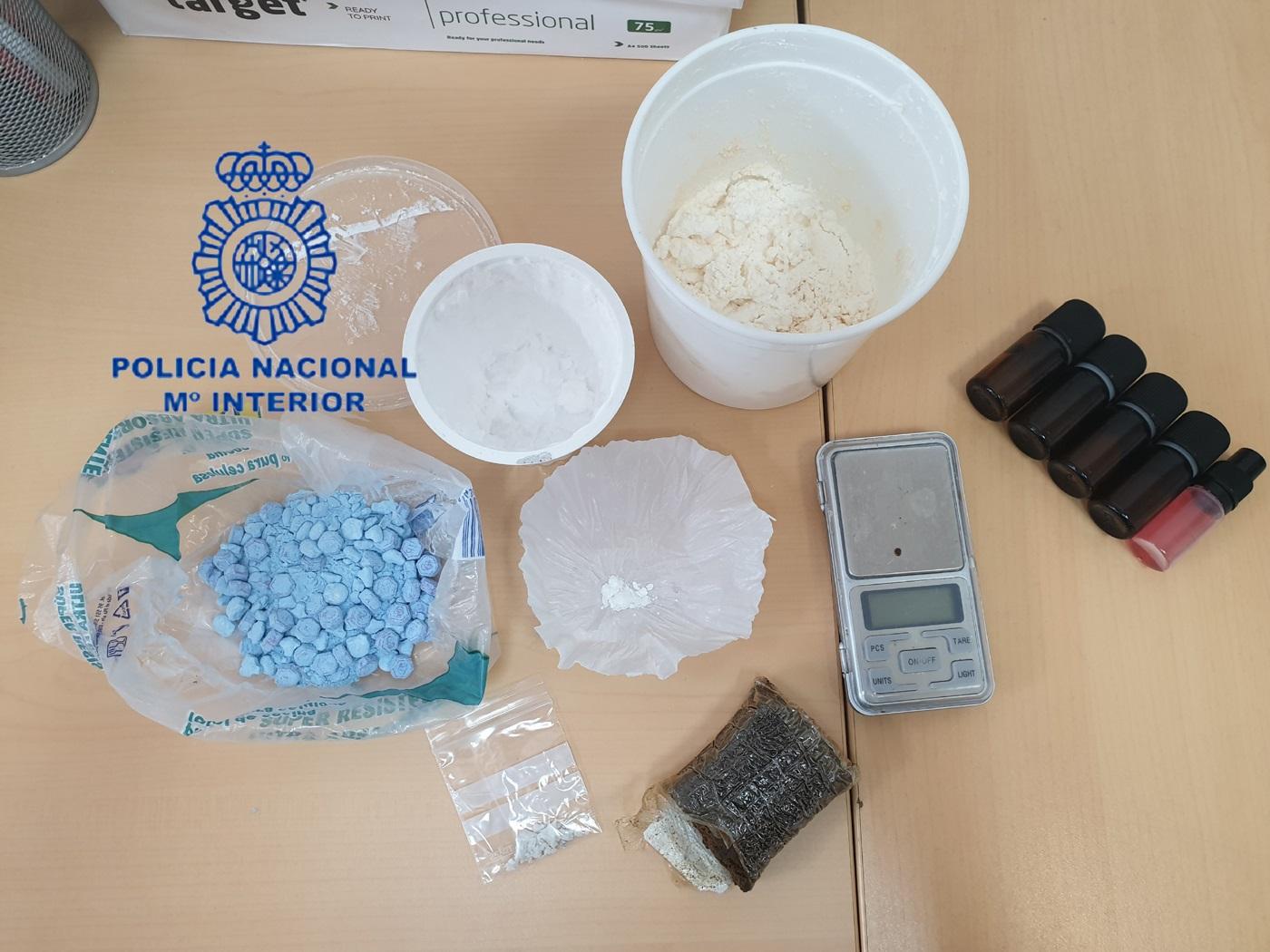 Detienen a seis personas por tráfico de drogas en dos operativos en Valencia