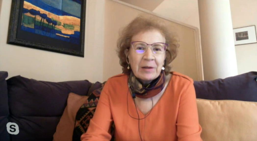 """Coronavirus: Margarita del Val se vacuna con AstraZeneca: """"Al que le ofrezcan una, que se la ponga"""""""