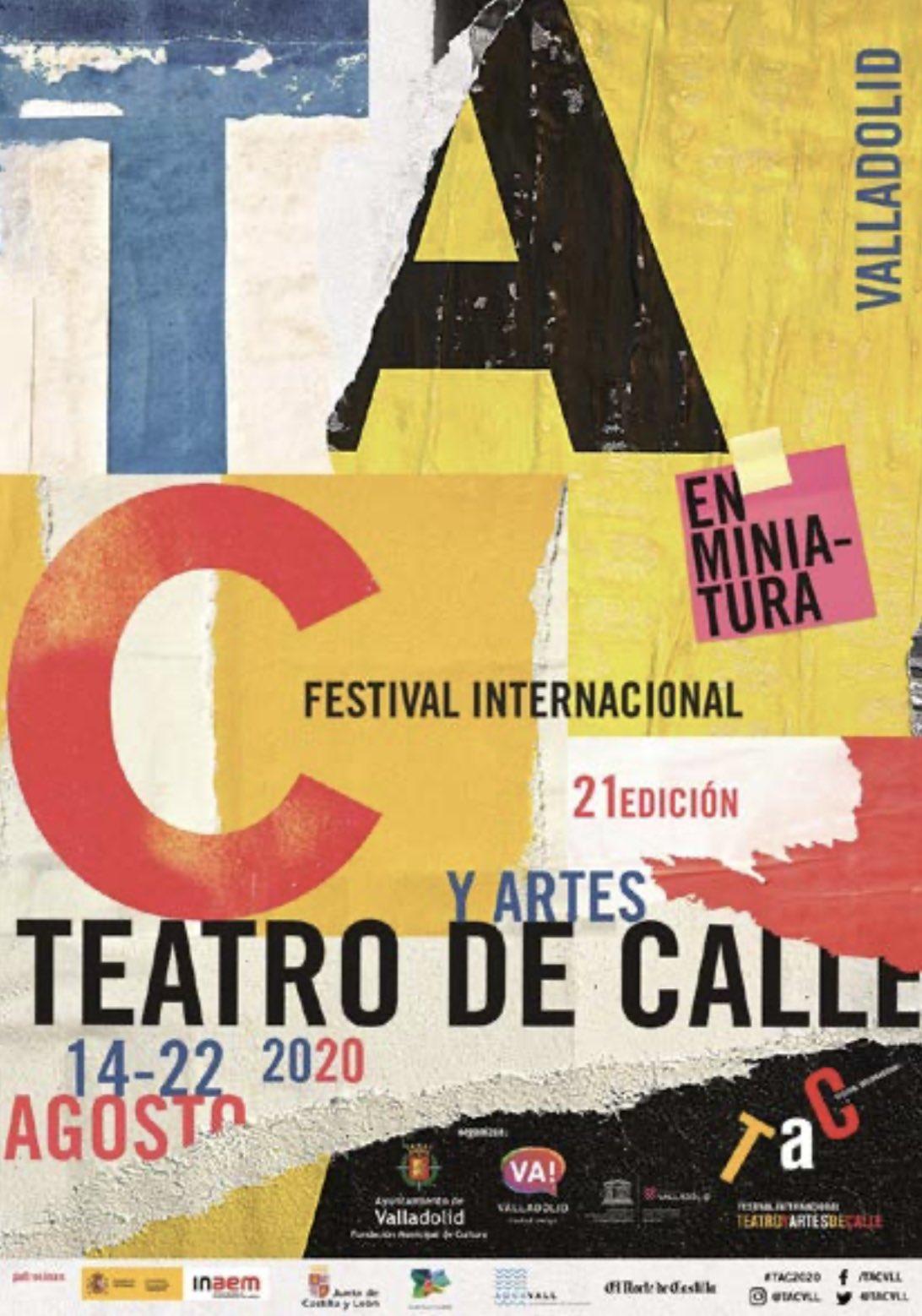 Cartel TAC Valladolid 2020