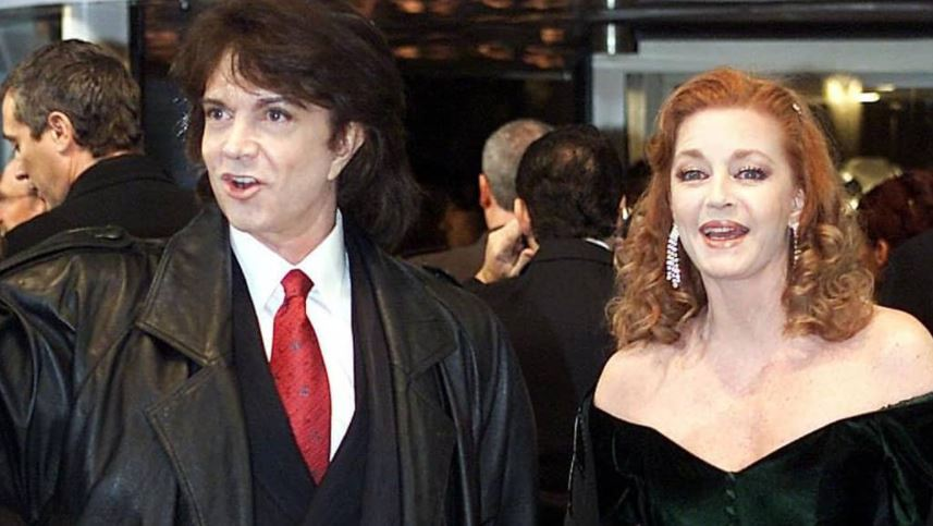 Camilo Sesto y Andrea Bronston