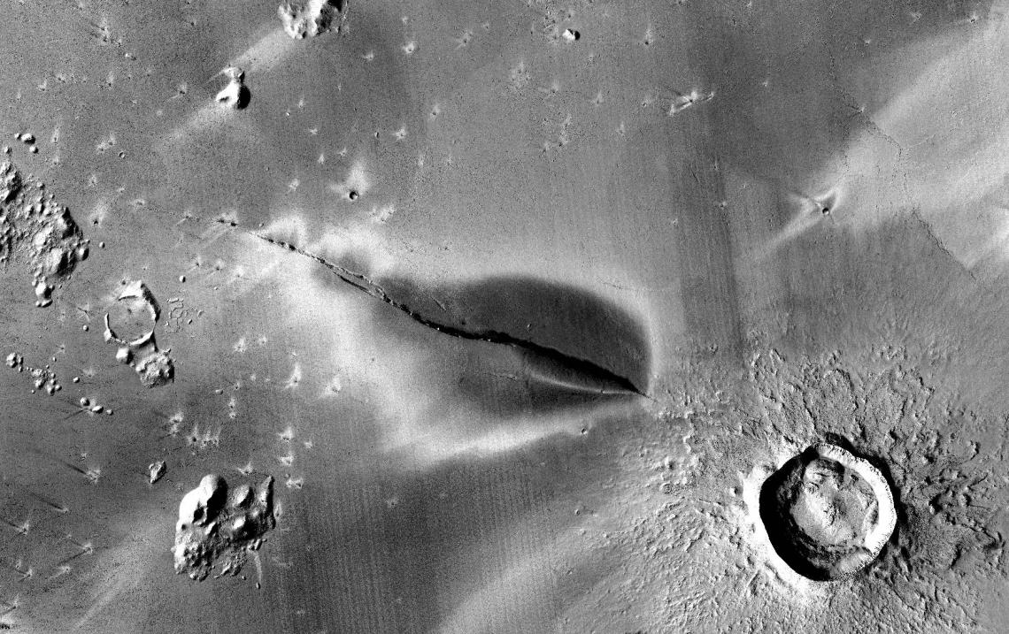 ¿Aún hay actividad volcánica en Marte?