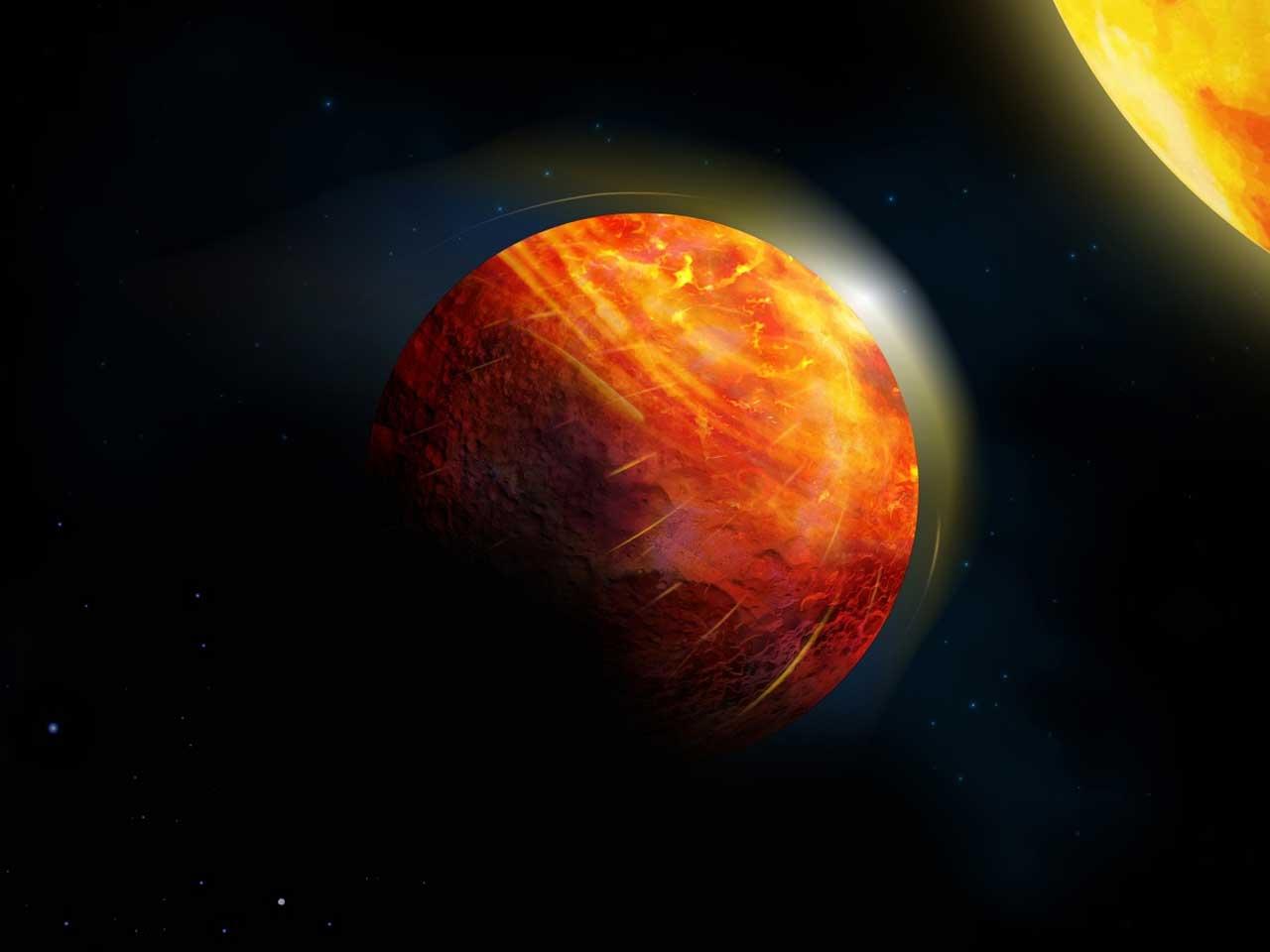 K2-141b, el planeta de lava donde llueven piedras y el viento sopla a 5000 Km/h