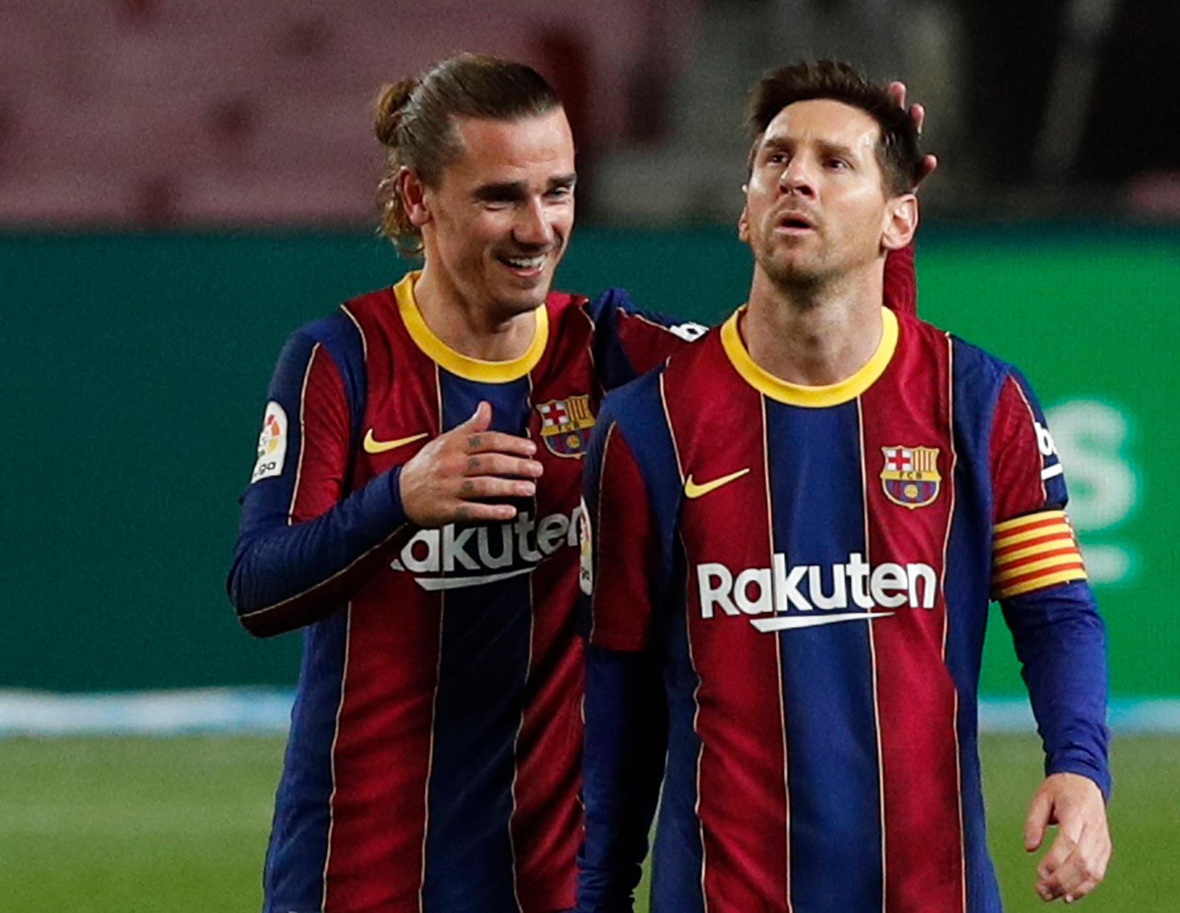 FC Barcelone : plutôt qu'inscrire un triplé, Messi offre un penalty Griezmann