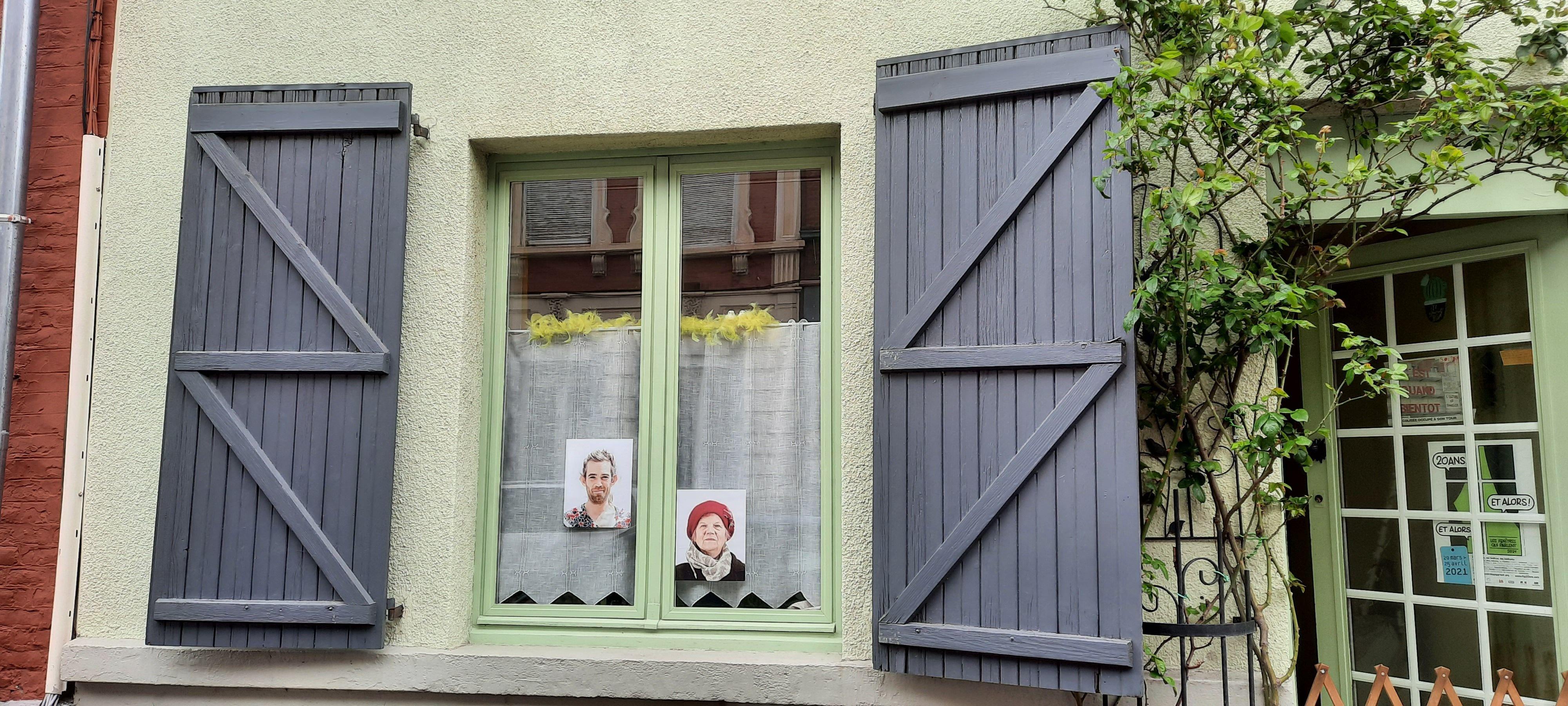 A Lille, le festival des «Fenêtres qui parlent» transforme les rues en galerie d'art
