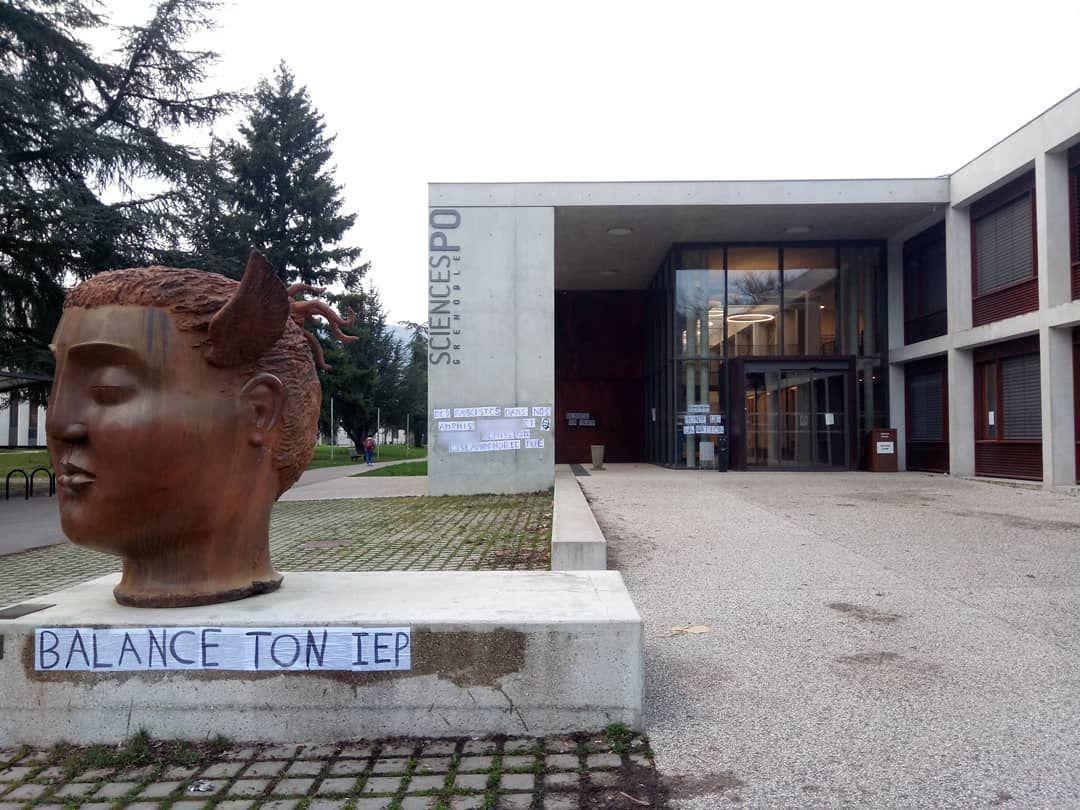 Sciences-po Grenoble : le gouvernement appelle à «sanctionner» les étudiants ayant diffamé