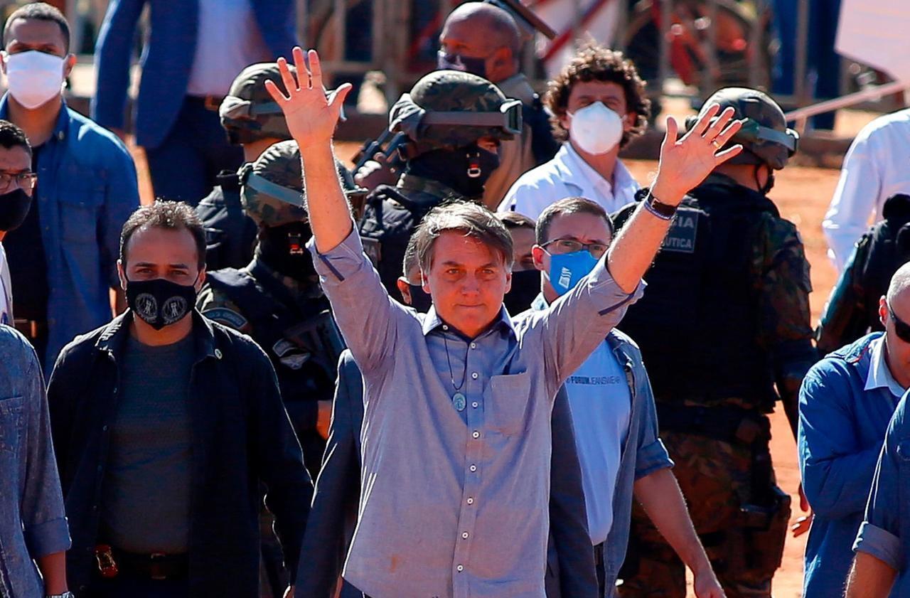 Le Brésil pourrait quitter l'OMS, son président Bolsonaro l'accusant de «parti pris»
